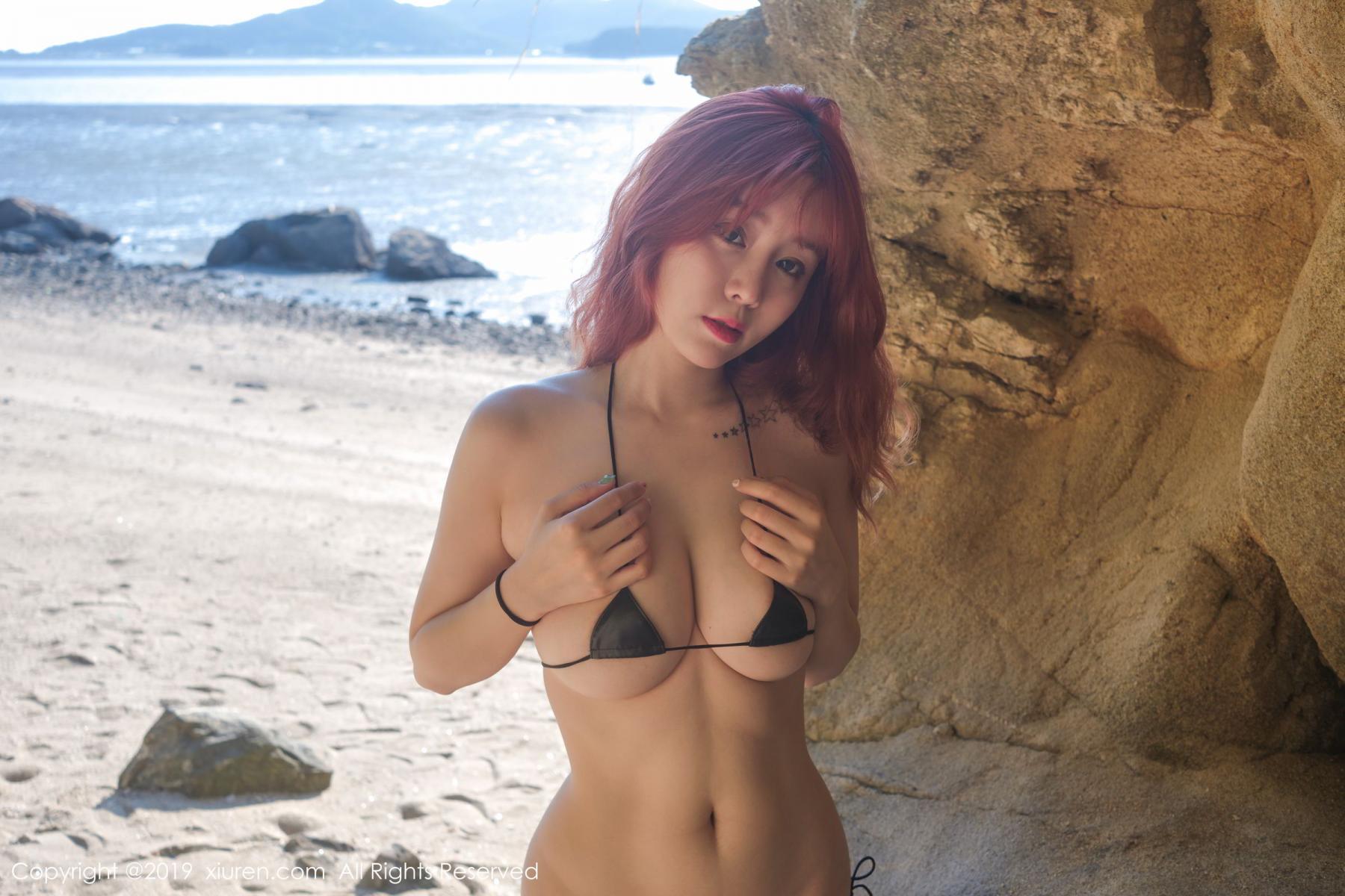 [XiuRen] Vol.1681 Wang Yu Chun 42P, Beach, Bikini, Wang Yu Chun, Xiuren