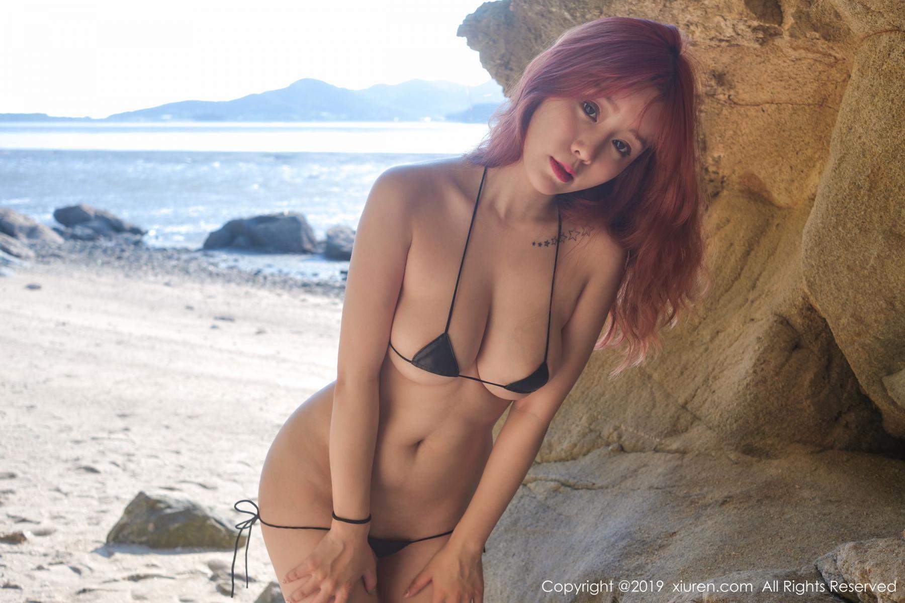 [XiuRen] Vol.1681 Wang Yu Chun 44P, Beach, Bikini, Wang Yu Chun, Xiuren