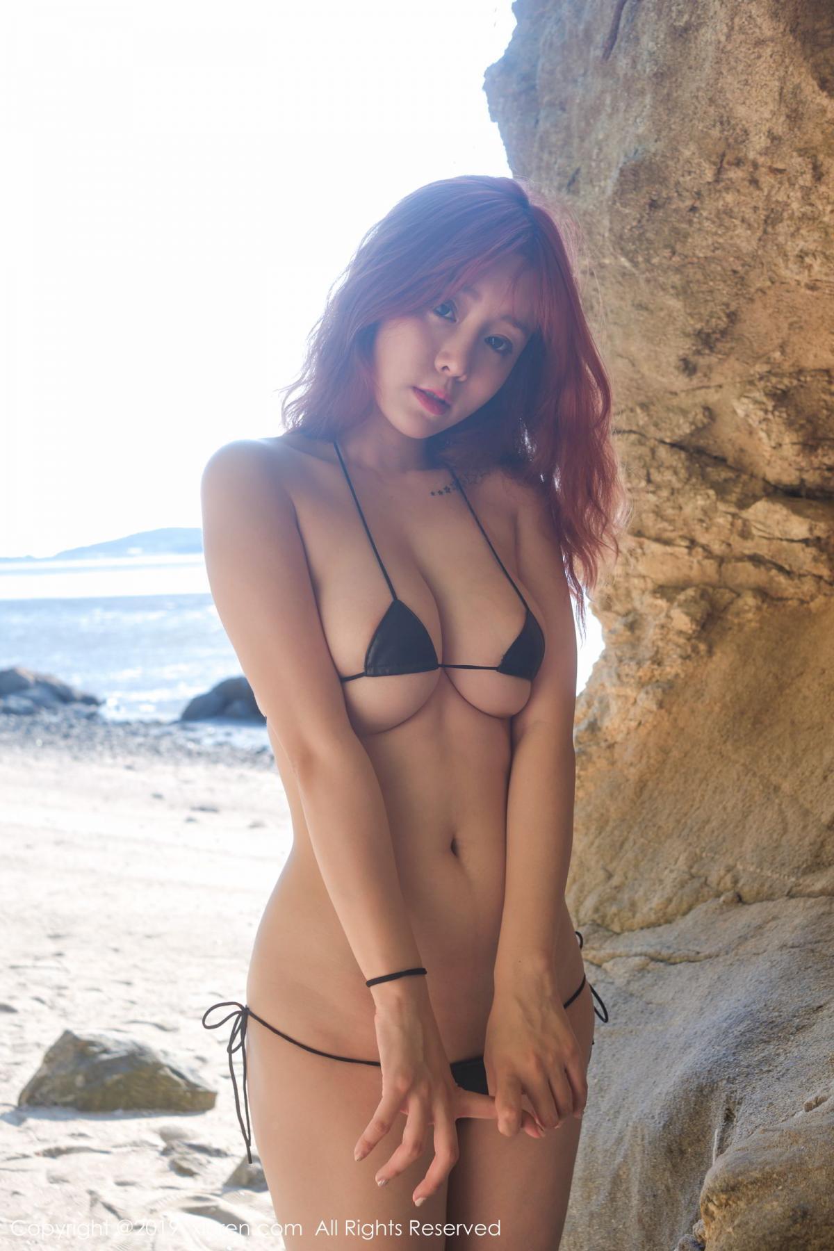 [XiuRen] Vol.1681 Wang Yu Chun 45P, Beach, Bikini, Wang Yu Chun, Xiuren