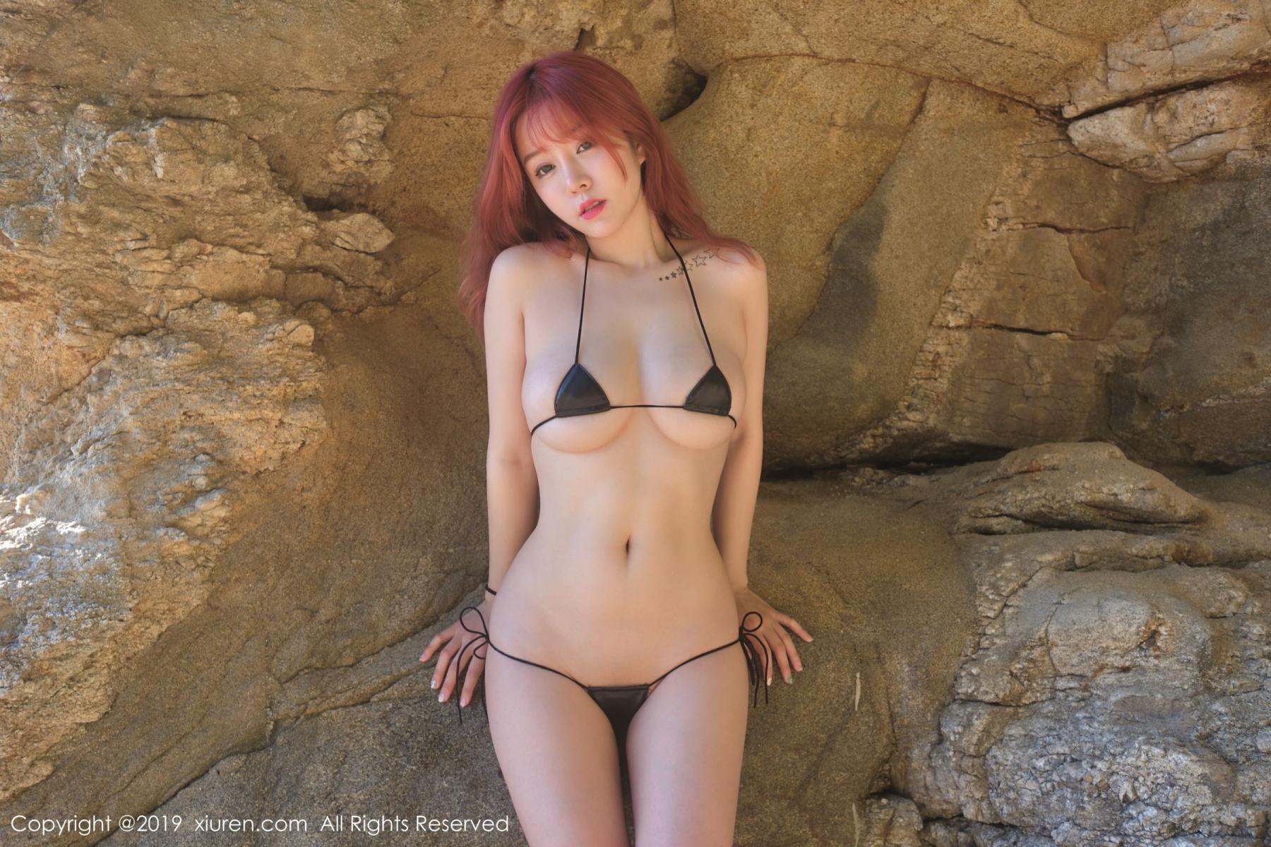 [XiuRen] Vol.1681 Wang Yu Chun 46P, Beach, Bikini, Wang Yu Chun, Xiuren