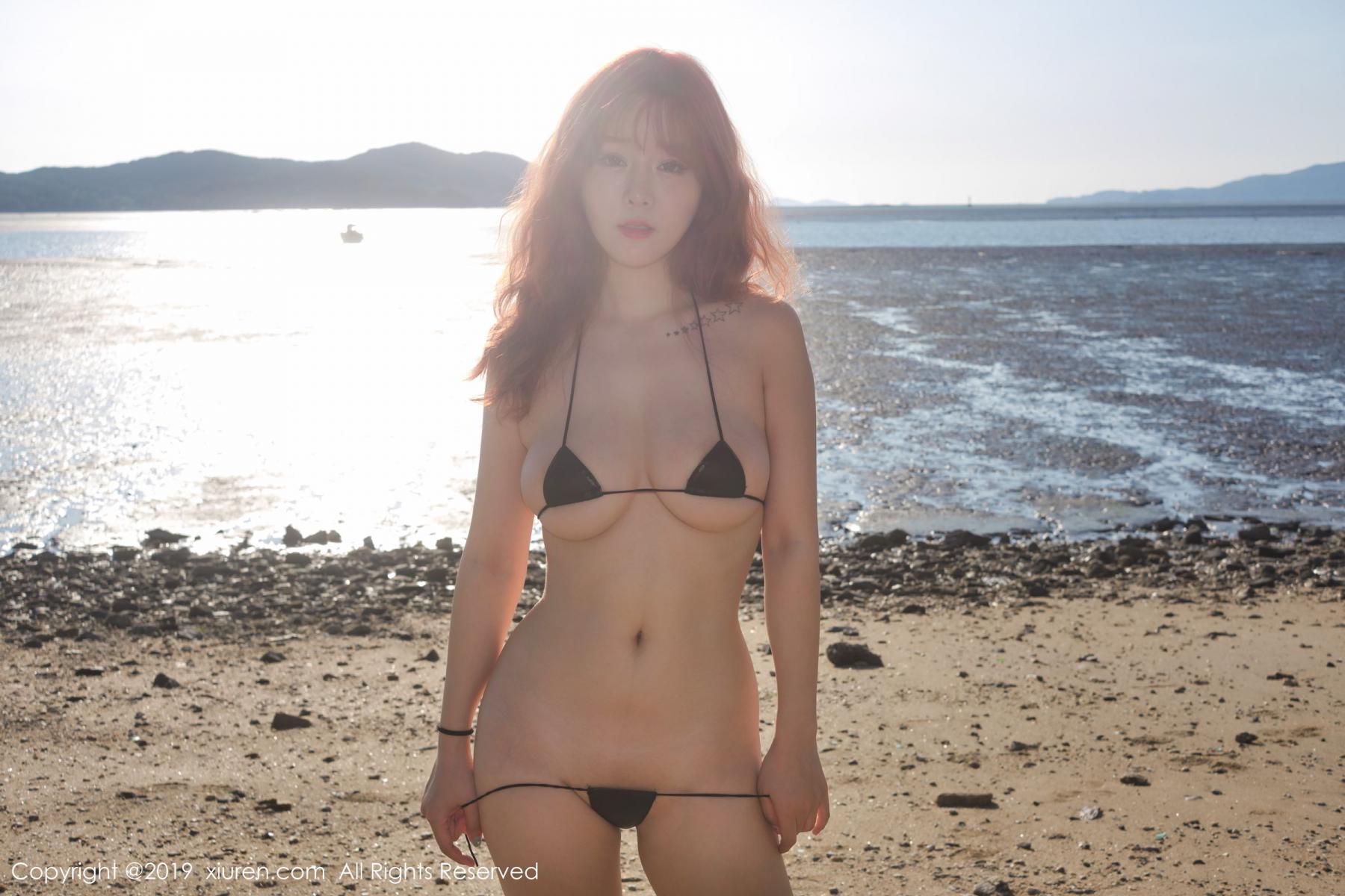 [XiuRen] Vol.1681 Wang Yu Chun 47P, Beach, Bikini, Wang Yu Chun, Xiuren