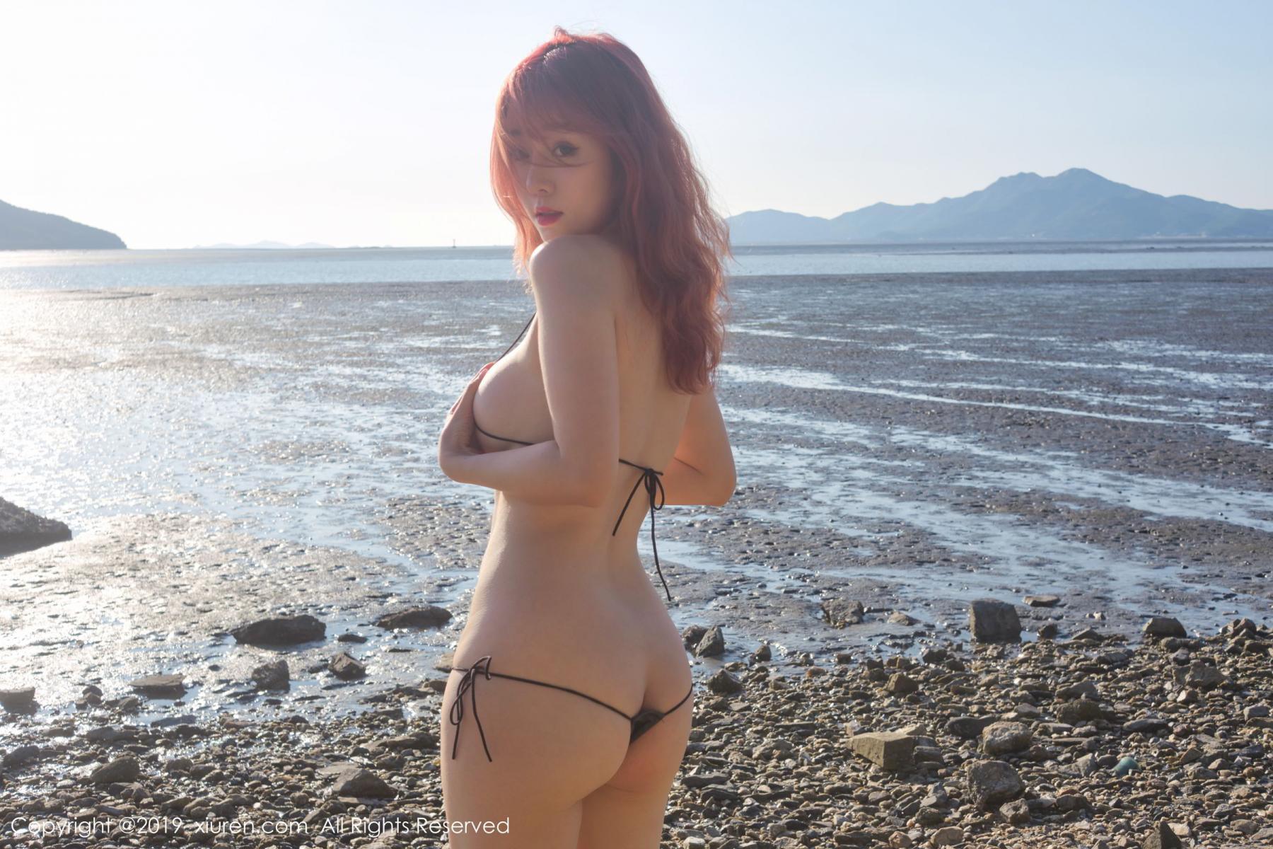 [XiuRen] Vol.1681 Wang Yu Chun 56P, Beach, Bikini, Wang Yu Chun, Xiuren