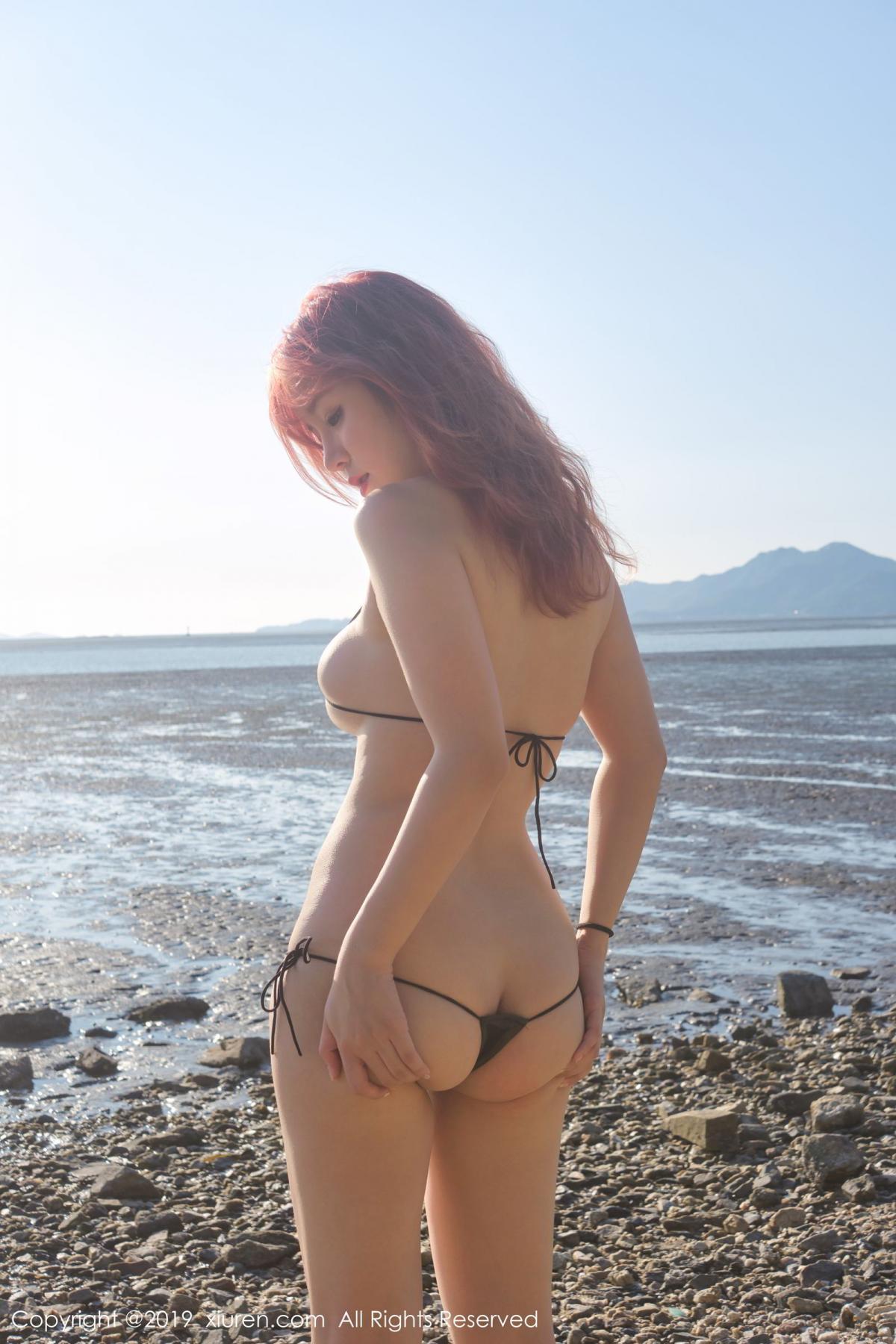 [XiuRen] Vol.1681 Wang Yu Chun 57P, Beach, Bikini, Wang Yu Chun, Xiuren