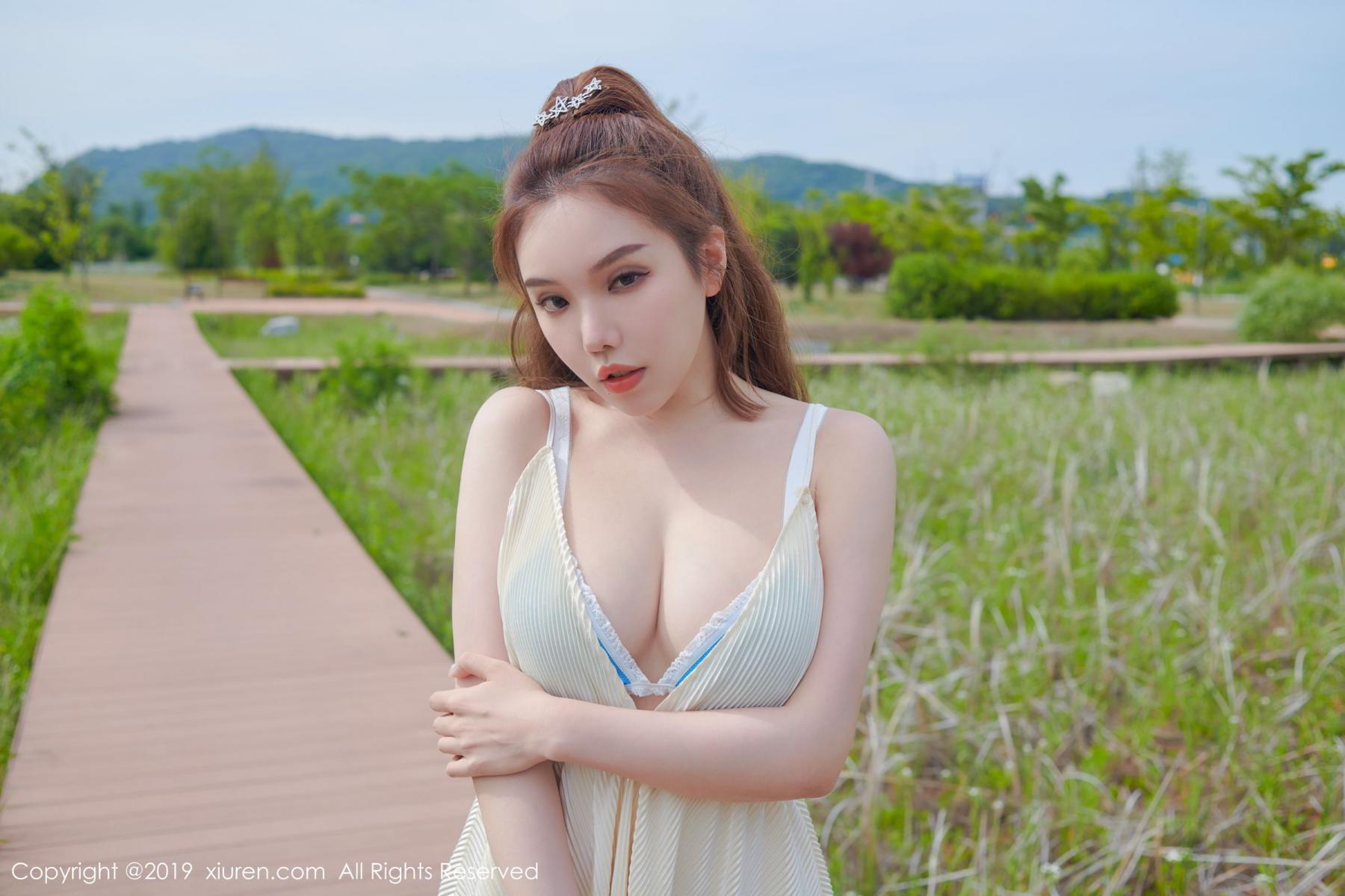 [XiuRen] Vol.1684 Huang Le Ran 7P, Huang Le Ran, Underwear, Xiuren