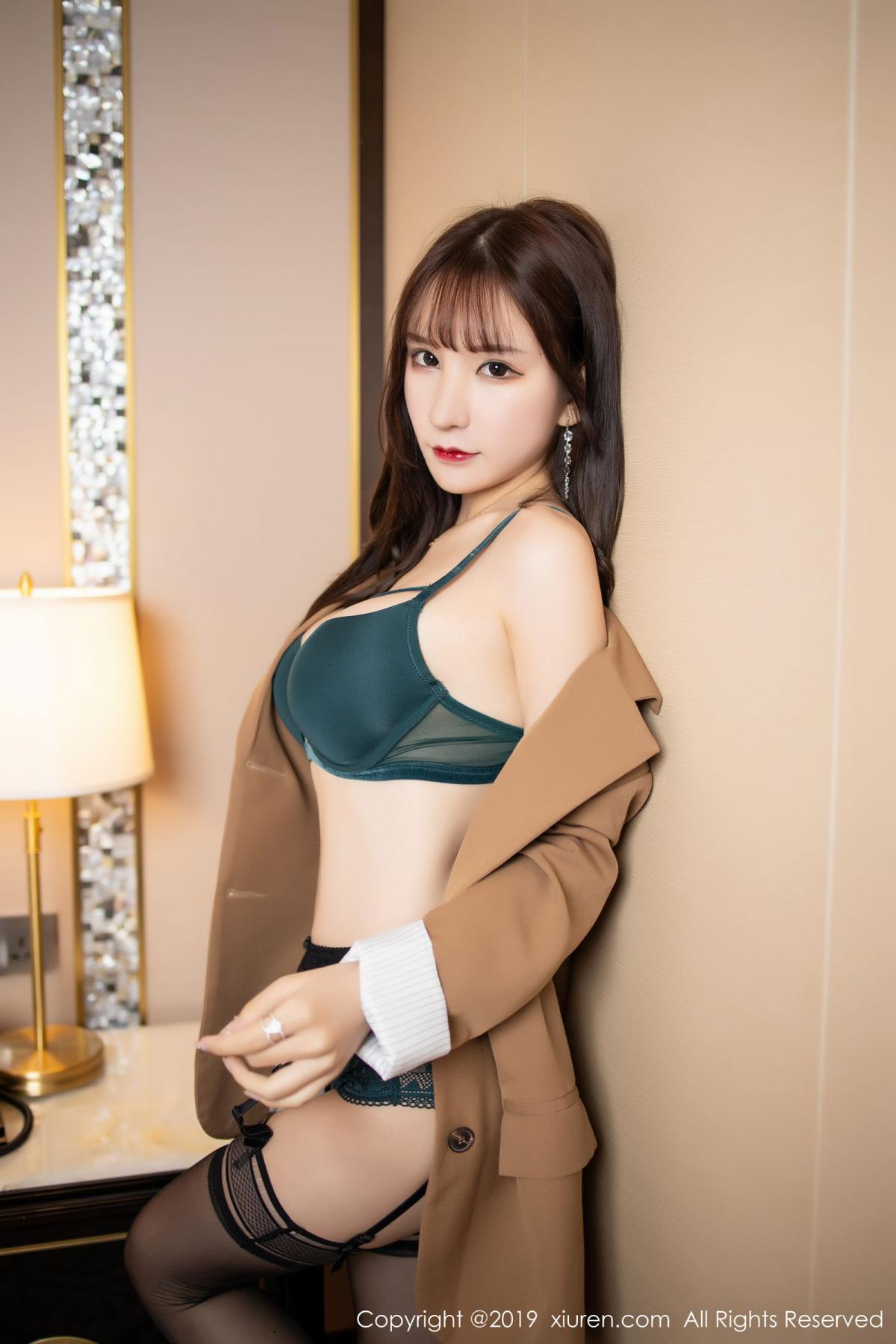 [XiuRen] Vol.1687 Zhou Yu Xi 29P, Black Silk, Underwear, Xiuren, Zhou Yu Xi