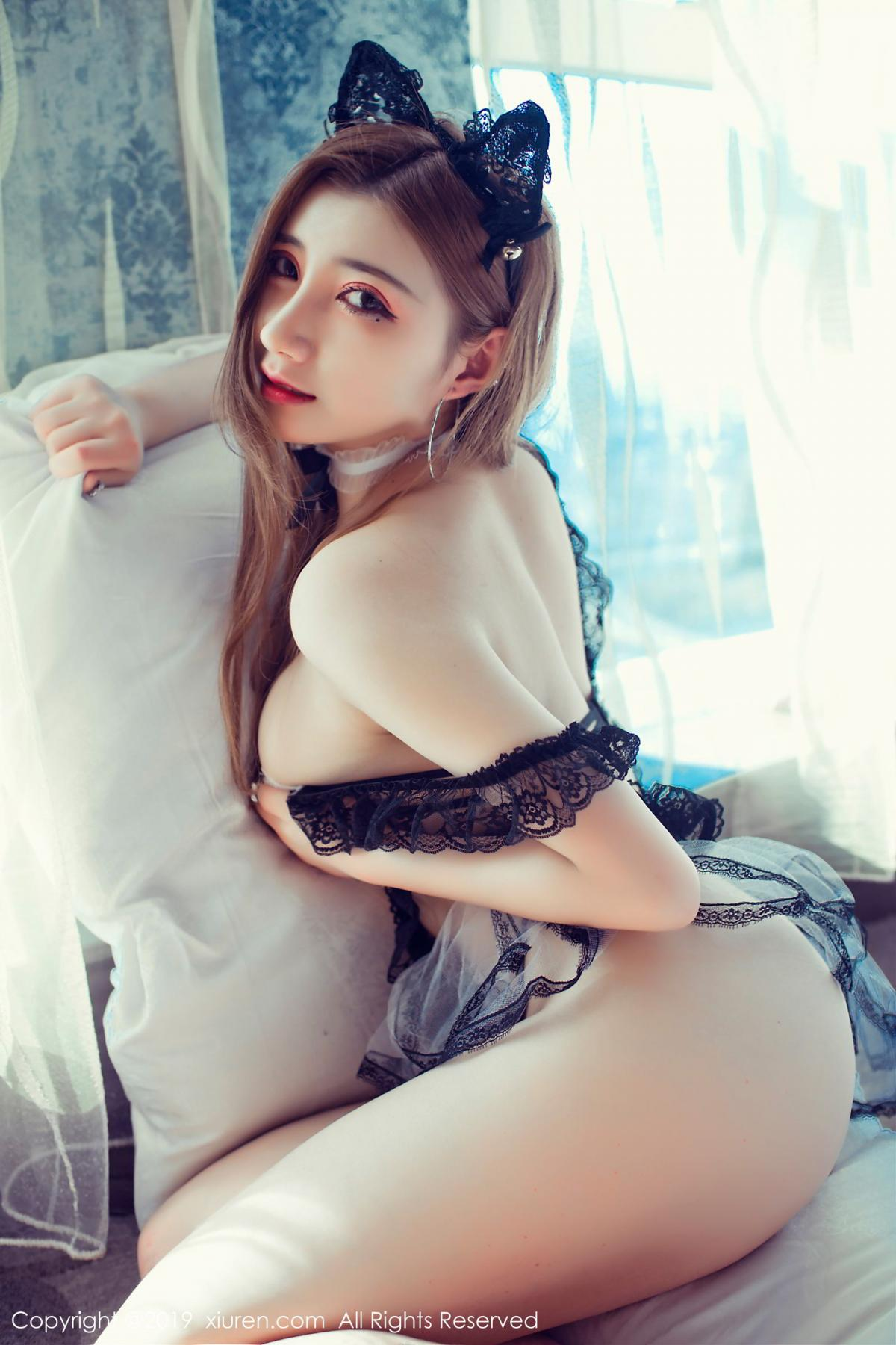 [XiuRen] Vol.1692 Wan Qian 18P, Maid, Underwear, Wan Qian, Xiuren