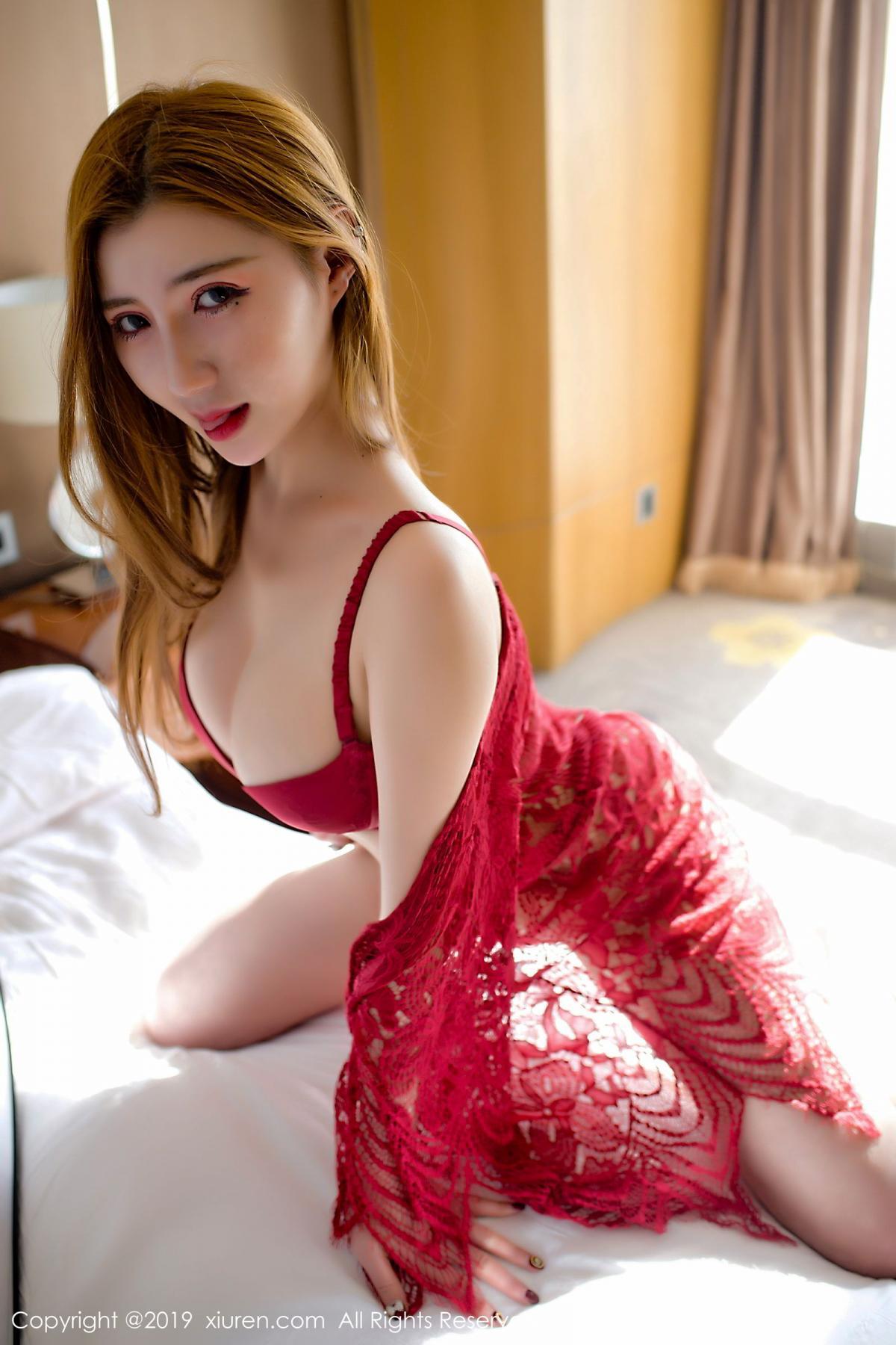 [XiuRen] Vol.1692 Wan Qian 28P, Maid, Underwear, Wan Qian, Xiuren