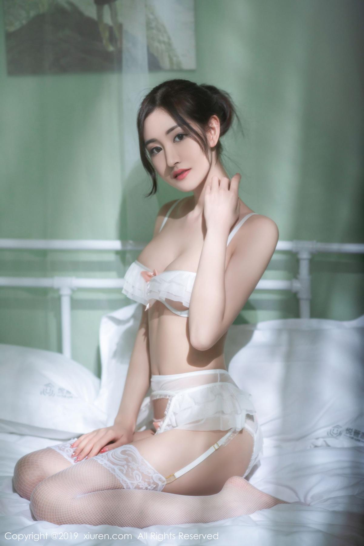 [XiuRen] Vol.1693 Shen Meng Yao 3P, Shen Meng Yao, Underwear, Xiuren