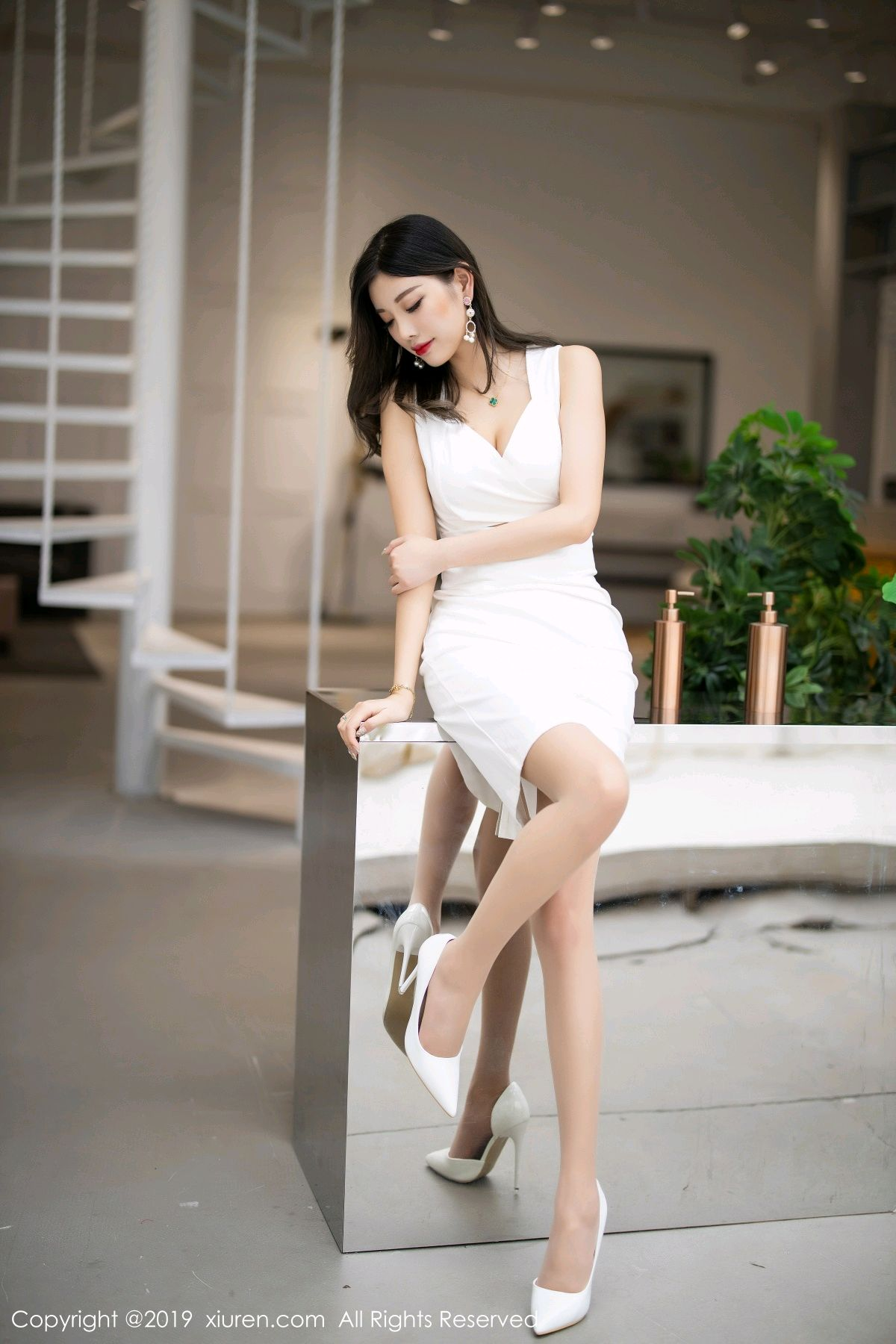 [XiuRen] Vol.1695 Yang Chen Chen 15P, Foot, Tall, Underwear, Xiuren, Yang Chen Chen