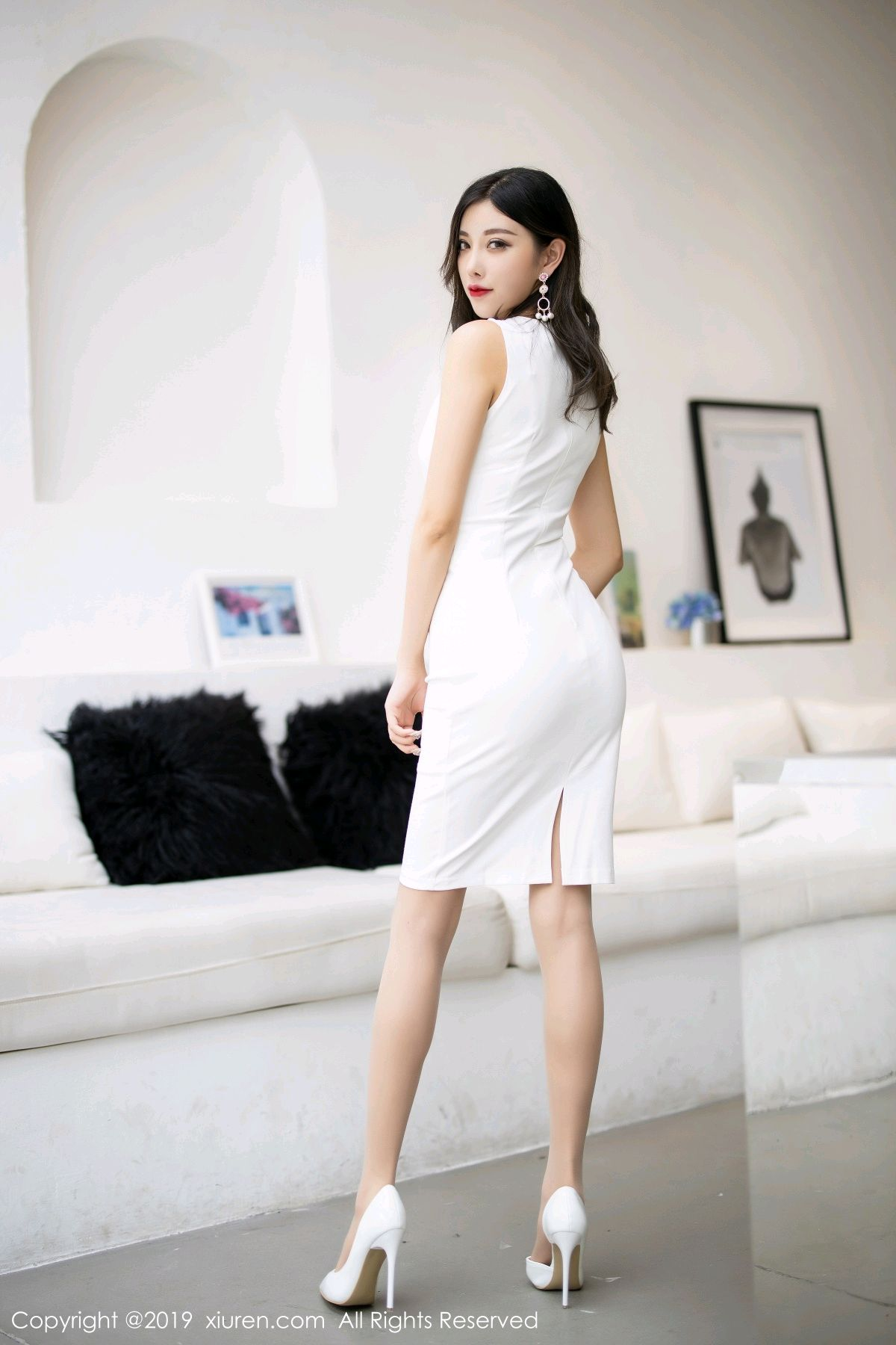 [XiuRen] Vol.1695 Yang Chen Chen 3P, Foot, Tall, Underwear, Xiuren, Yang Chen Chen