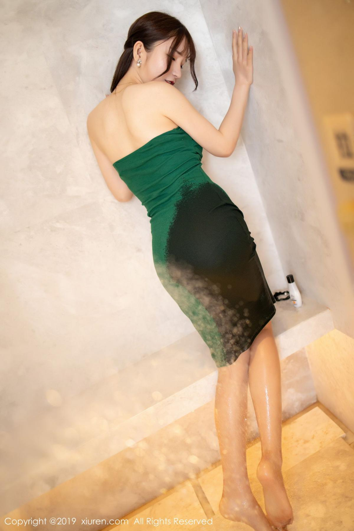 [XiuRen] Vol.1703 Zhou Yu Xi 19P, Bathroom, Wet, Xiuren, Zhou Yu Xi
