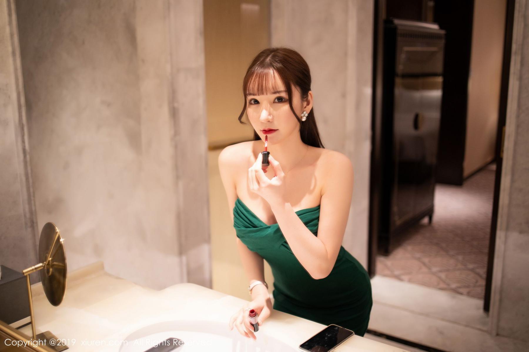 [XiuRen] Vol.1703 Zhou Yu Xi 2P, Bathroom, Wet, Xiuren, Zhou Yu Xi