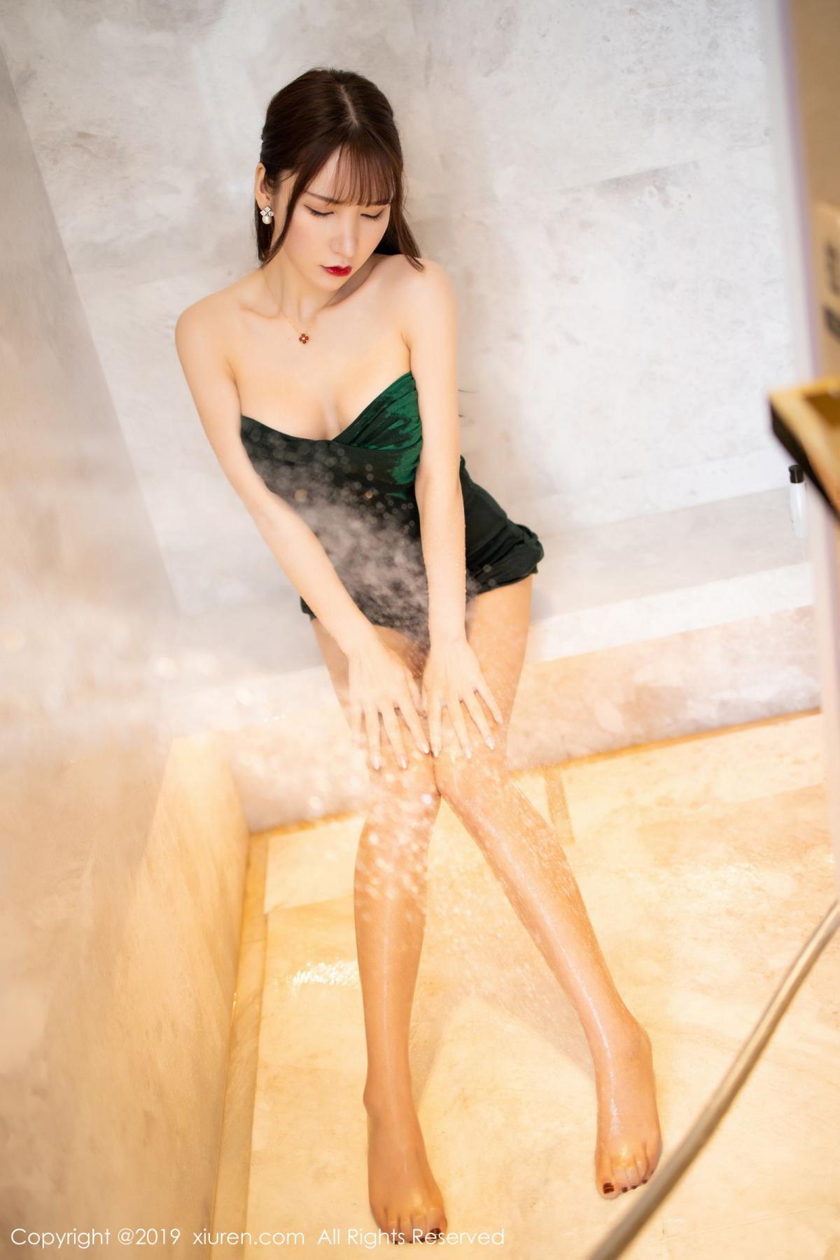 [XiuRen] Vol.1703 Zhou Yu Xi 37P, Bathroom, Wet, Xiuren, Zhou Yu Xi
