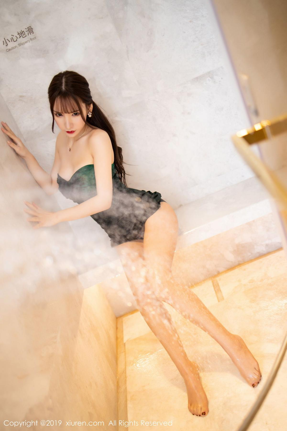 [XiuRen] Vol.1703 Zhou Yu Xi 38P, Bathroom, Wet, Xiuren, Zhou Yu Xi