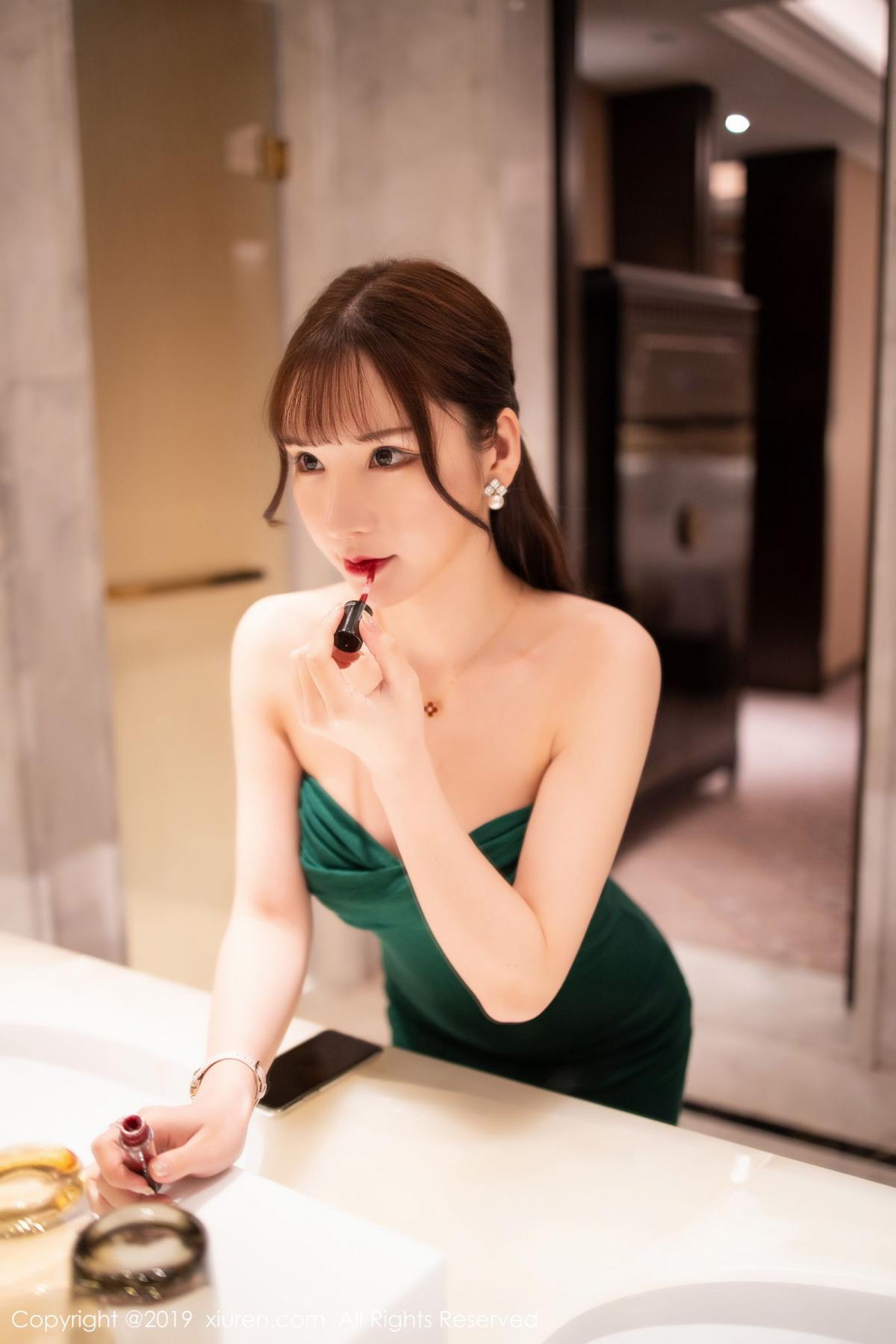 [XiuRen] Vol.1703 Zhou Yu Xi 3P, Bathroom, Wet, Xiuren, Zhou Yu Xi