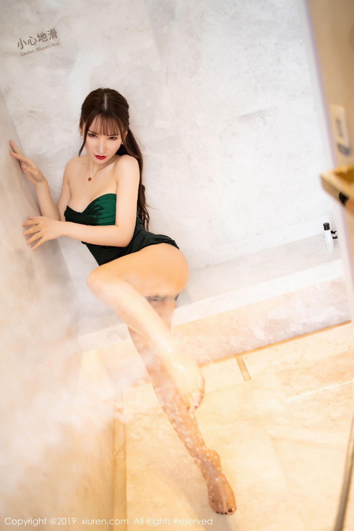 [XiuRen] Vol.1703 Zhou Yu Xi 40P, Bathroom, Wet, Xiuren, Zhou Yu Xi