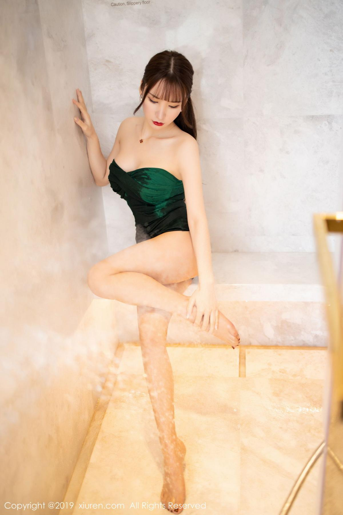 [XiuRen] Vol.1703 Zhou Yu Xi 42P, Bathroom, Wet, Xiuren, Zhou Yu Xi
