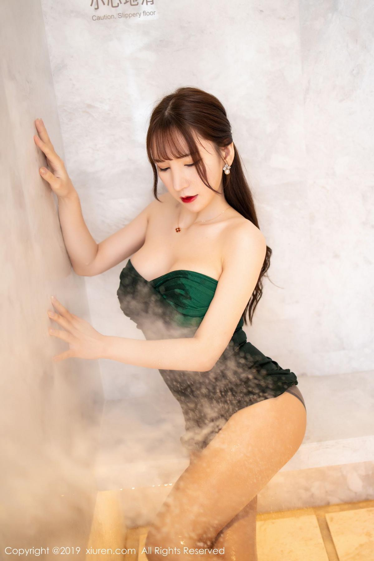 [XiuRen] Vol.1703 Zhou Yu Xi 46P, Bathroom, Wet, Xiuren, Zhou Yu Xi