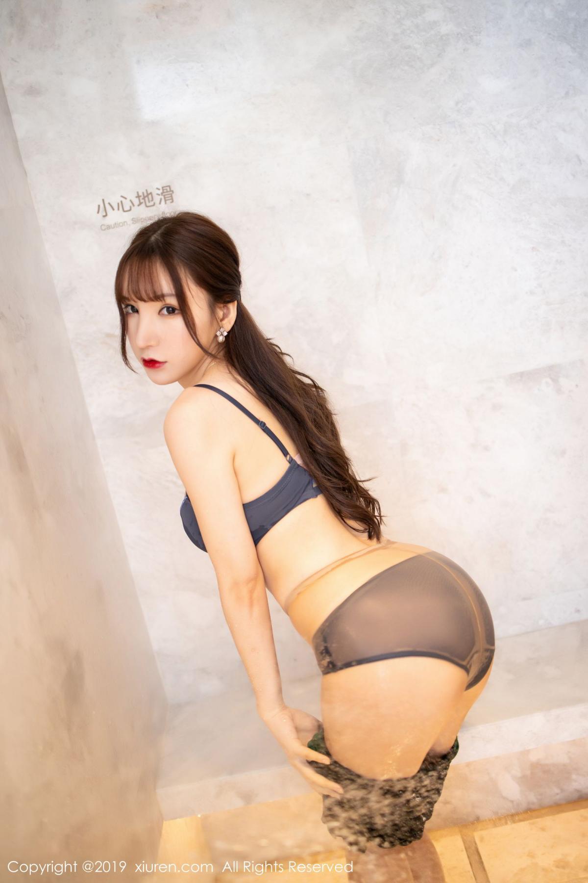 [XiuRen] Vol.1703 Zhou Yu Xi 49P, Bathroom, Wet, Xiuren, Zhou Yu Xi