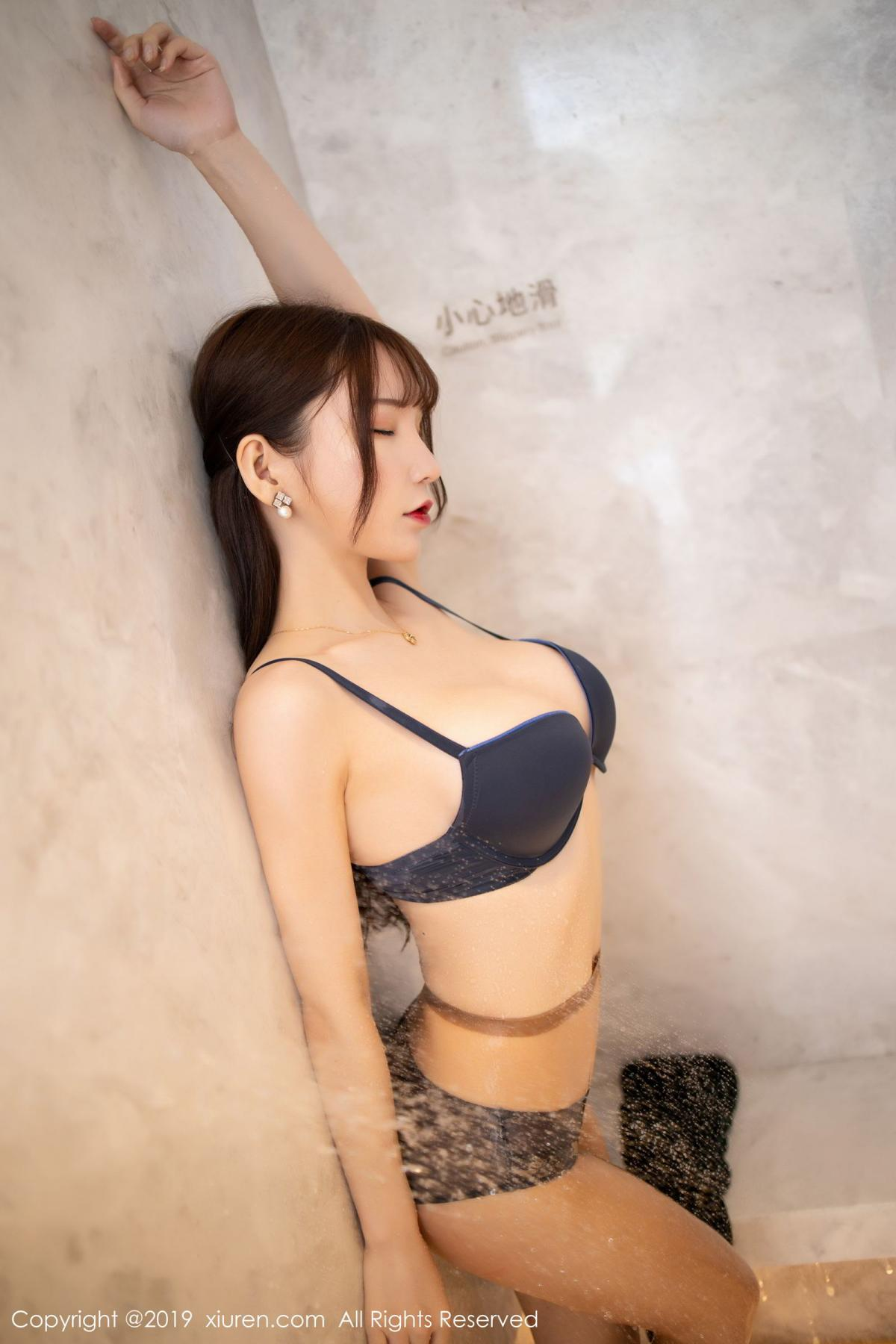 [XiuRen] Vol.1703 Zhou Yu Xi 50P, Bathroom, Wet, Xiuren, Zhou Yu Xi