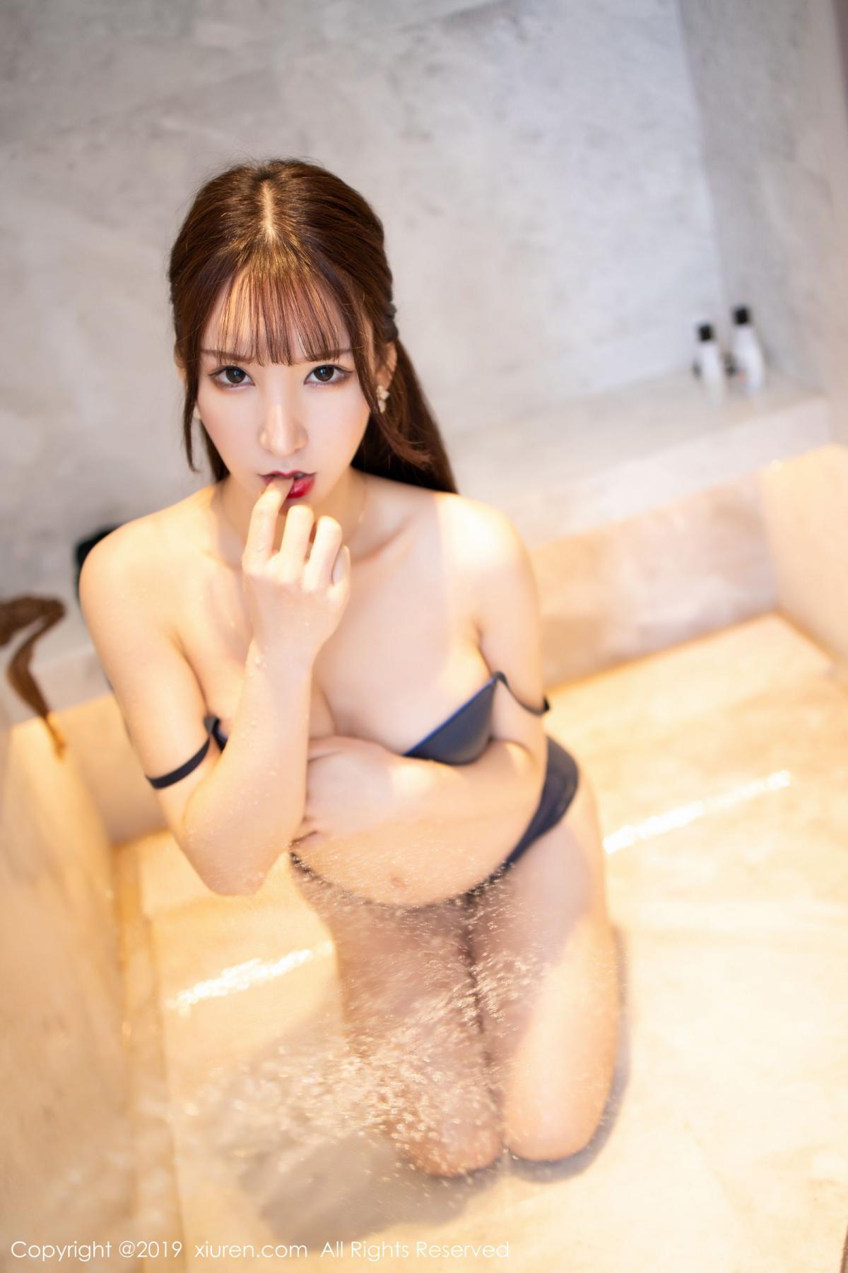 [XiuRen] Vol.1703 Zhou Yu Xi 60P, Bathroom, Wet, Xiuren, Zhou Yu Xi
