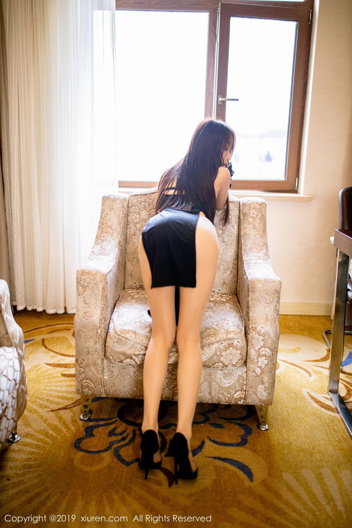 [XiuRen] Vol.1708 Xiao Jiu Yue 16P, Cheongsam, Tall, Xiao Jiu Yue, Xiuren