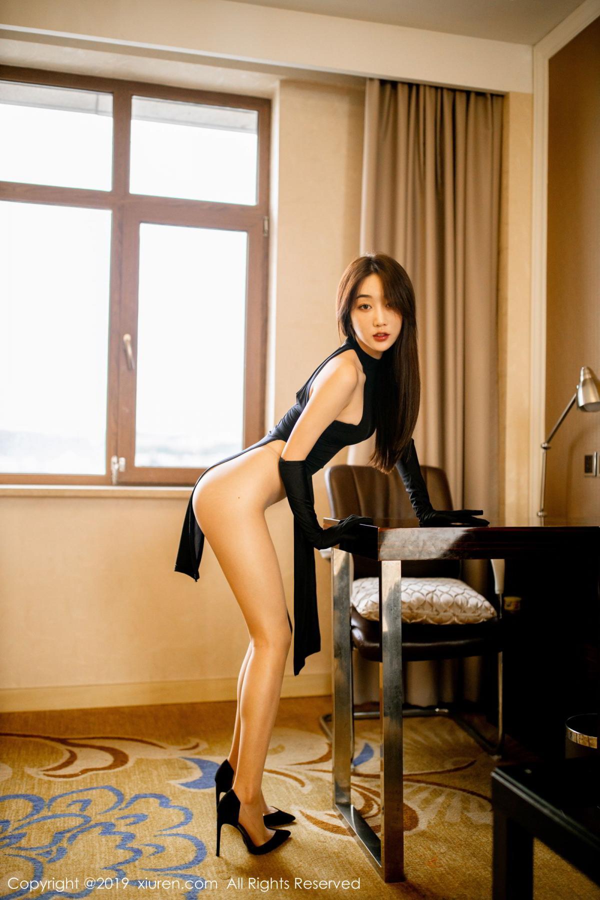[XiuRen] Vol.1708 Xiao Jiu Yue 33P, Cheongsam, Tall, Xiao Jiu Yue, Xiuren