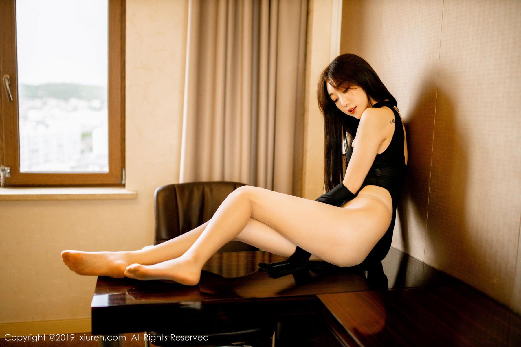 [XiuRen] Vol.1708 Xiao Jiu Yue 36P, Cheongsam, Tall, Xiao Jiu Yue, Xiuren