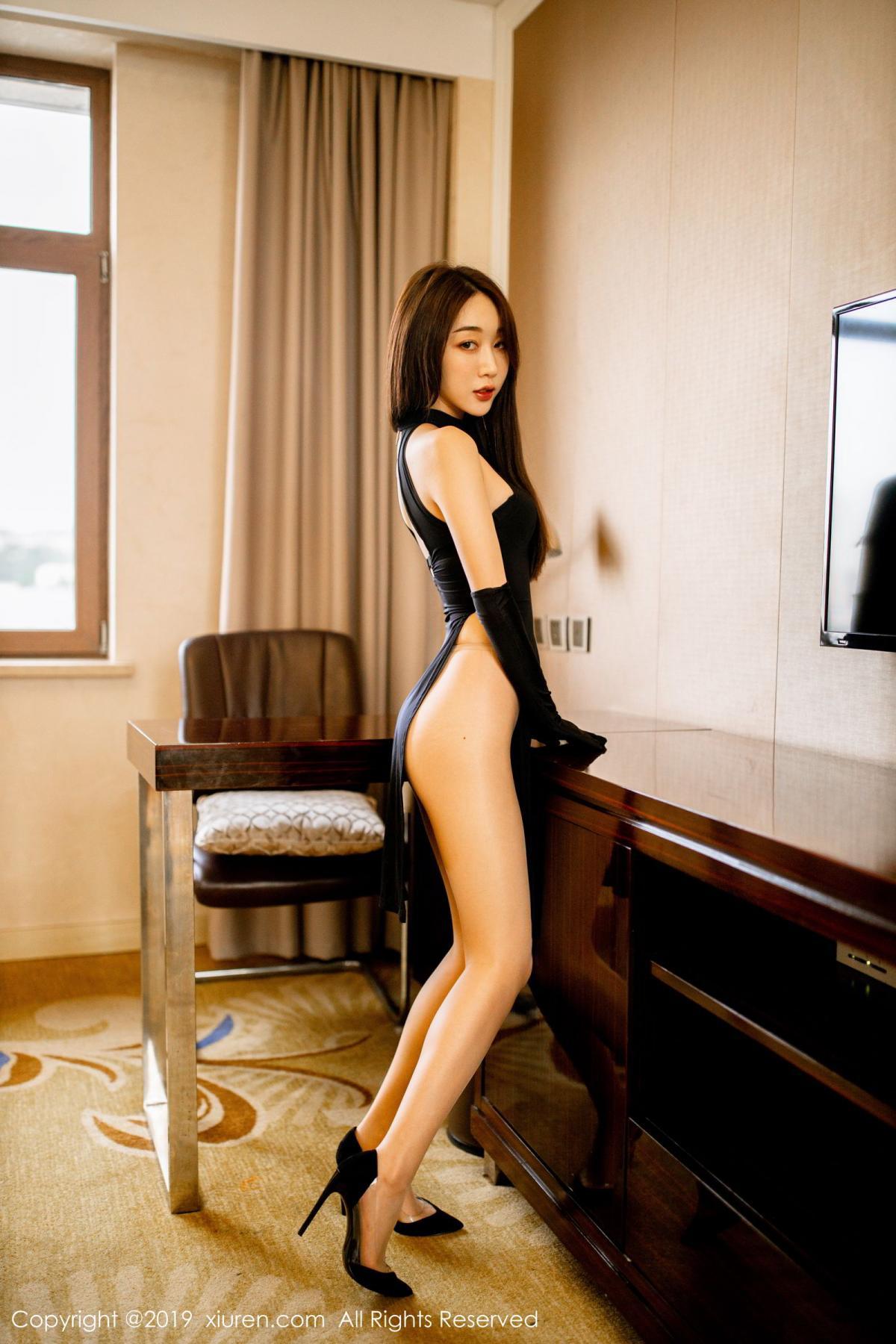 [XiuRen] Vol.1708 Xiao Jiu Yue 38P, Cheongsam, Tall, Xiao Jiu Yue, Xiuren