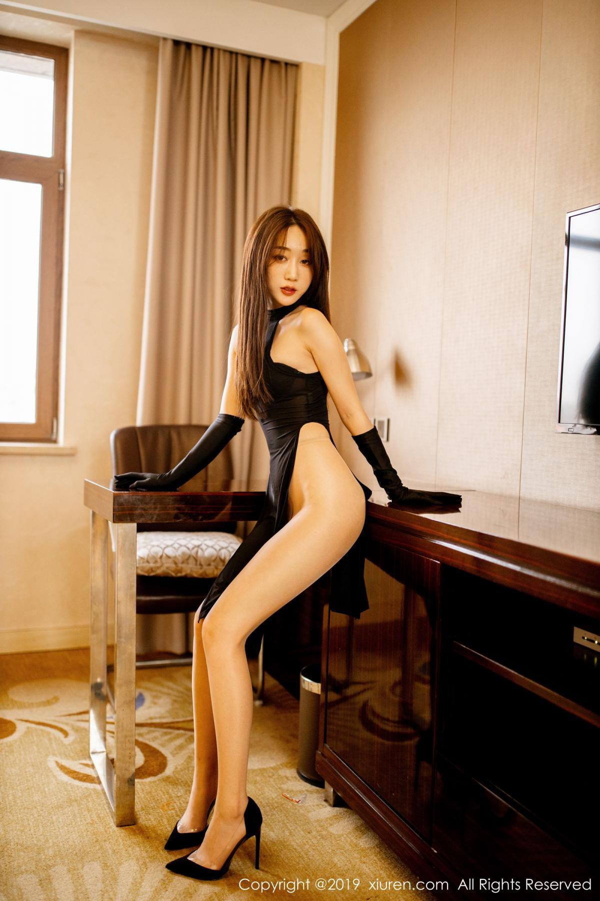 [XiuRen] Vol.1708 Xiao Jiu Yue 39P, Cheongsam, Tall, Xiao Jiu Yue, Xiuren
