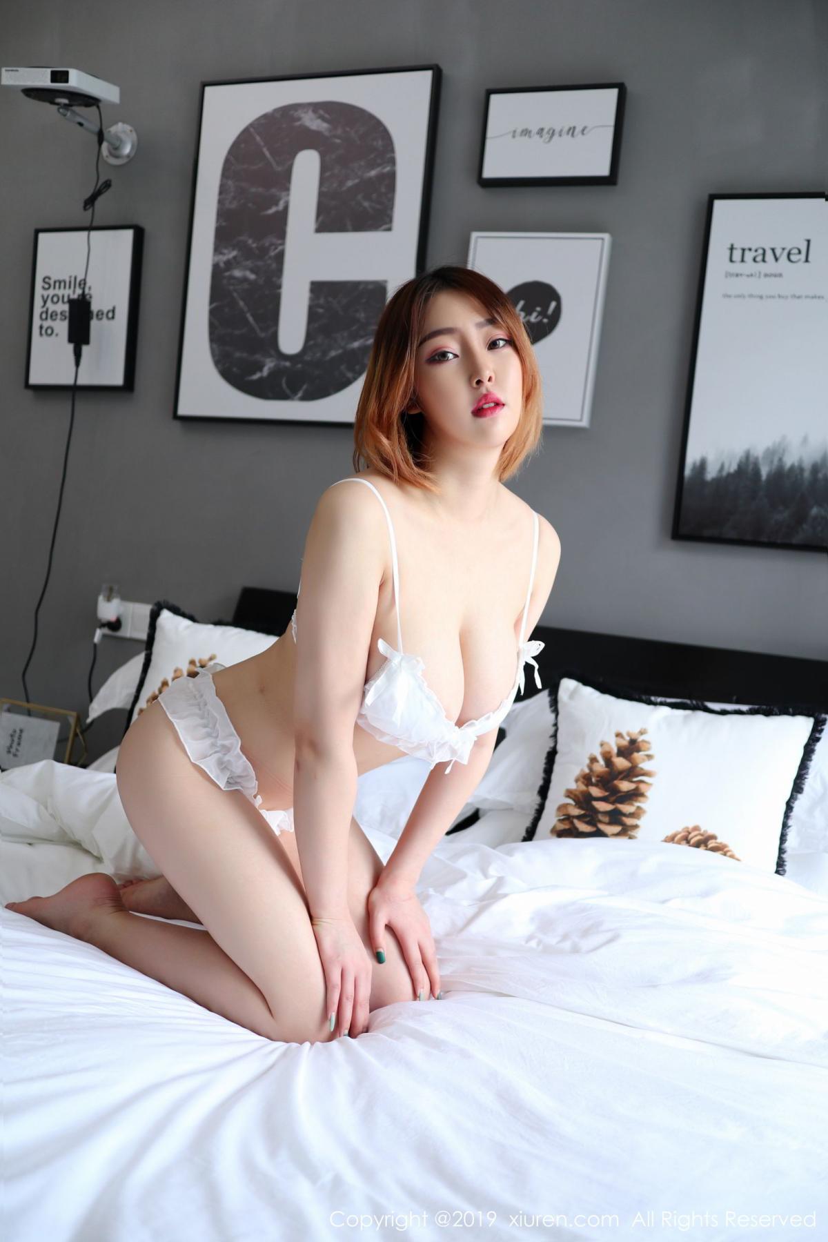 [XiuRen] Vol.1711 Yao A Yao De Yao 11P, Fair Skin, Underwear, Xiuren, Yao A Yao De Yao