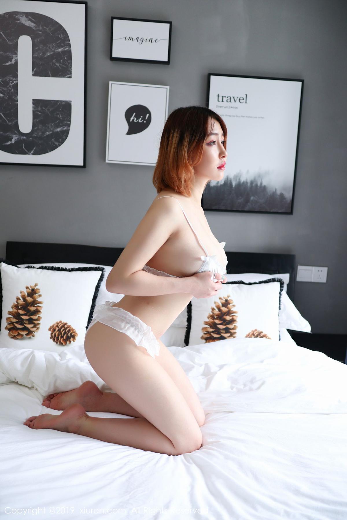 [XiuRen] Vol.1711 Yao A Yao De Yao 14P, Fair Skin, Underwear, Xiuren, Yao A Yao De Yao
