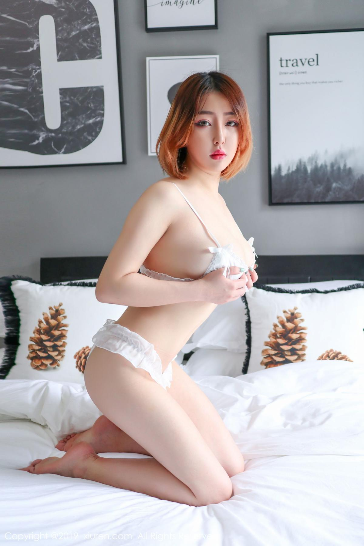 [XiuRen] Vol.1711 Yao A Yao De Yao 15P, Fair Skin, Underwear, Xiuren, Yao A Yao De Yao
