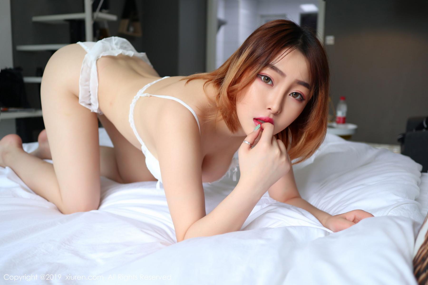 [XiuRen] Vol.1711 Yao A Yao De Yao 17P, Fair Skin, Underwear, Xiuren, Yao A Yao De Yao