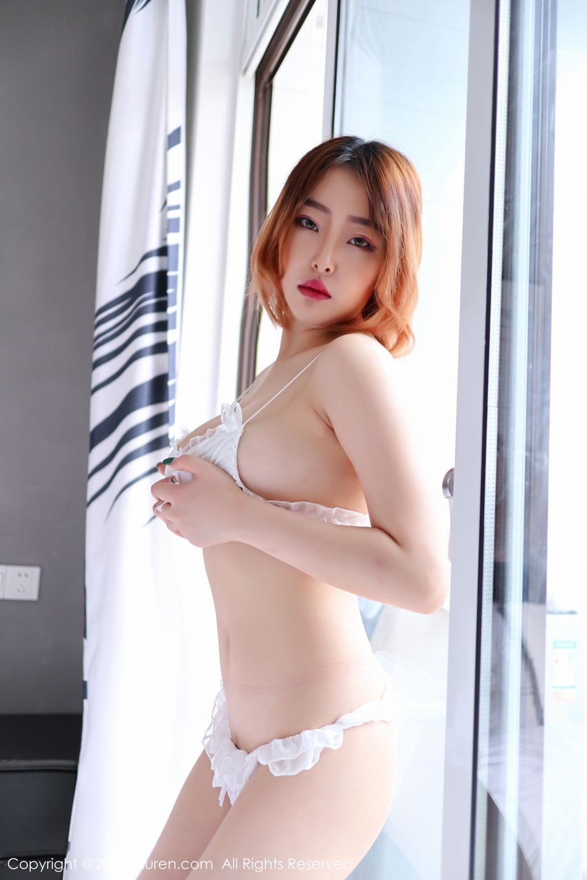 [XiuRen] Vol.1711 Yao A Yao De Yao 25P, Fair Skin, Underwear, Xiuren, Yao A Yao De Yao