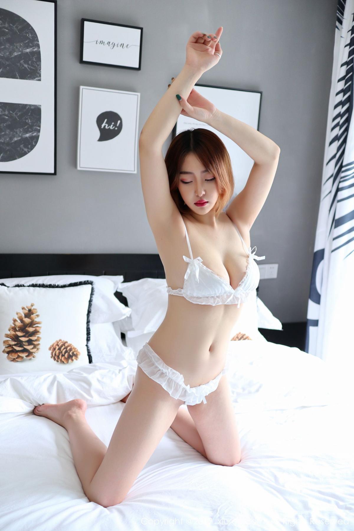 [XiuRen] Vol.1711 Yao A Yao De Yao 5P, Fair Skin, Underwear, Xiuren, Yao A Yao De Yao