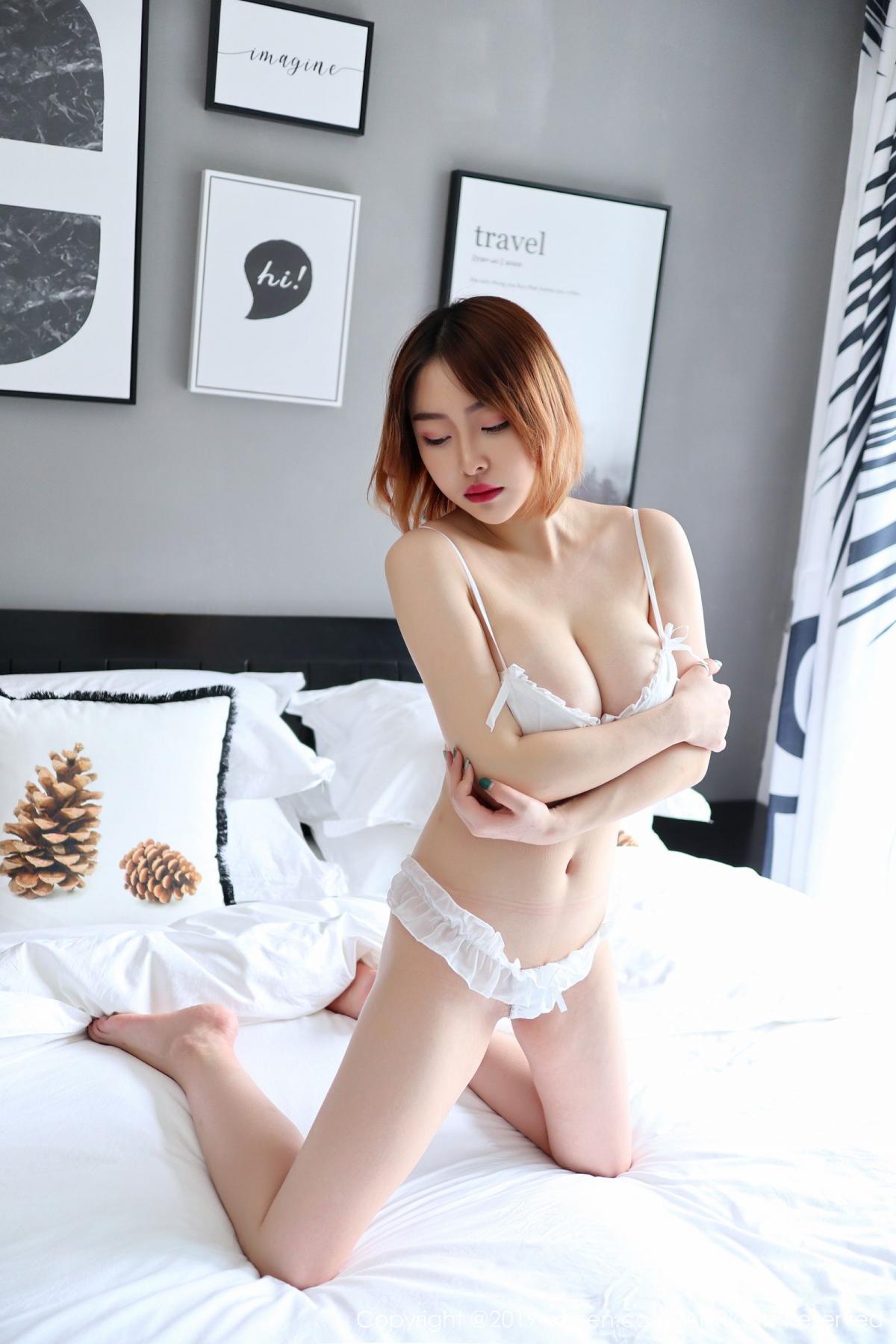 [XiuRen] Vol.1711 Yao A Yao De Yao 6P, Fair Skin, Underwear, Xiuren, Yao A Yao De Yao