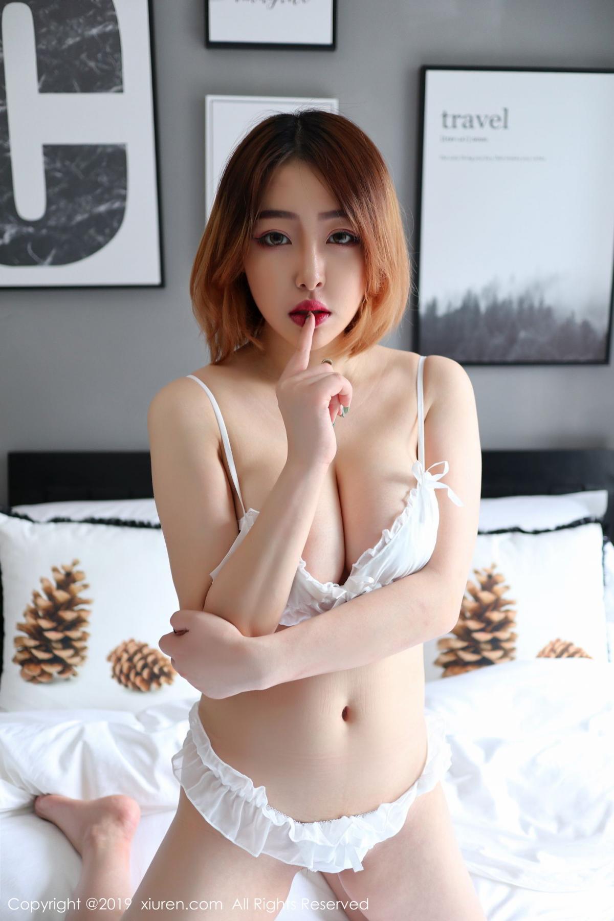 [XiuRen] Vol.1711 Yao A Yao De Yao 7P, Fair Skin, Underwear, Xiuren, Yao A Yao De Yao