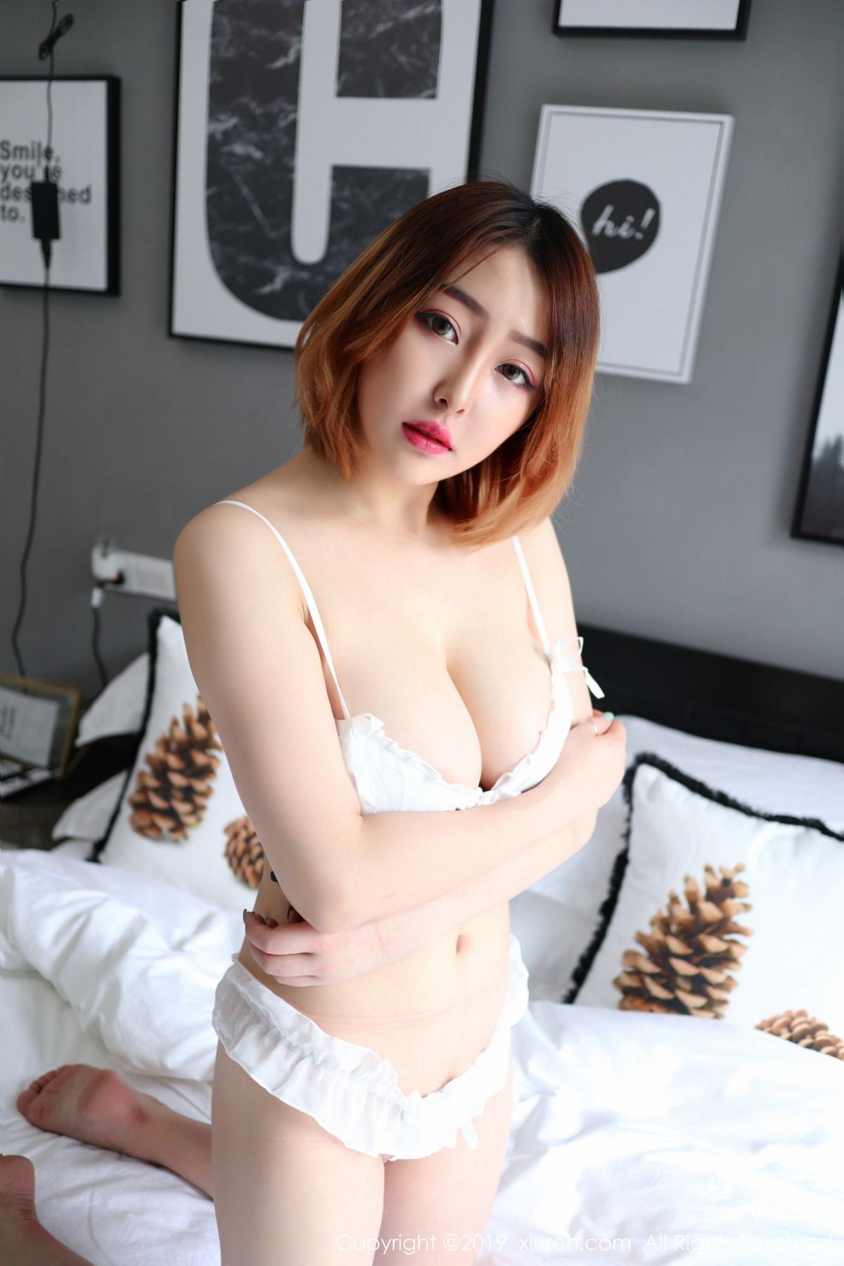 [XiuRen] Vol.1711 Yao A Yao De Yao 8P, Fair Skin, Underwear, Xiuren, Yao A Yao De Yao
