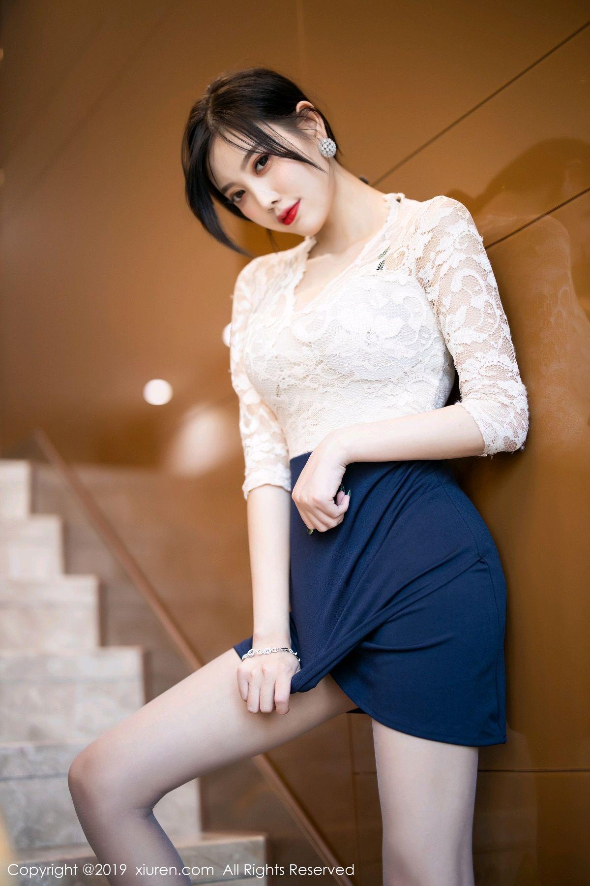 [XiuRen] Vol.1717 Yang Chen Chen 9P, Tall, Underwear, Xiuren, Yang Chen Chen