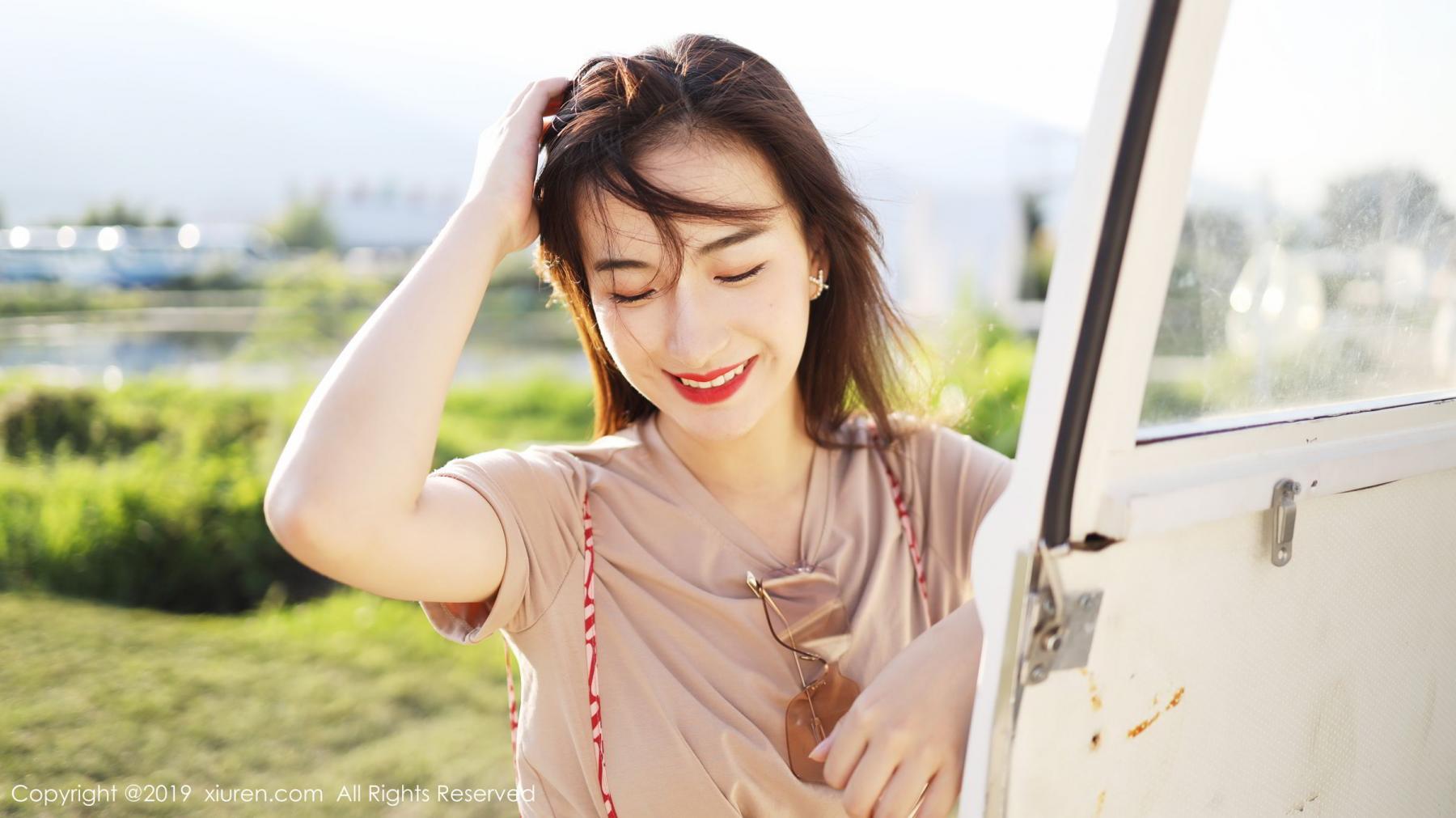 [XiuRen] Vol.1718 Gong Tian Yi 19P, Gong Tian Yi, Outdoor, Temperament, Xiuren