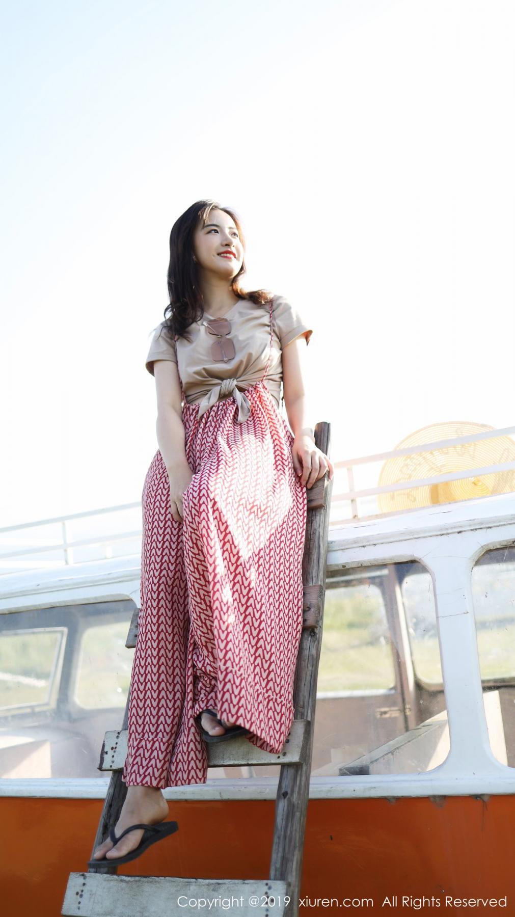 [XiuRen] Vol.1718 Gong Tian Yi 2P, Gong Tian Yi, Outdoor, Temperament, Xiuren