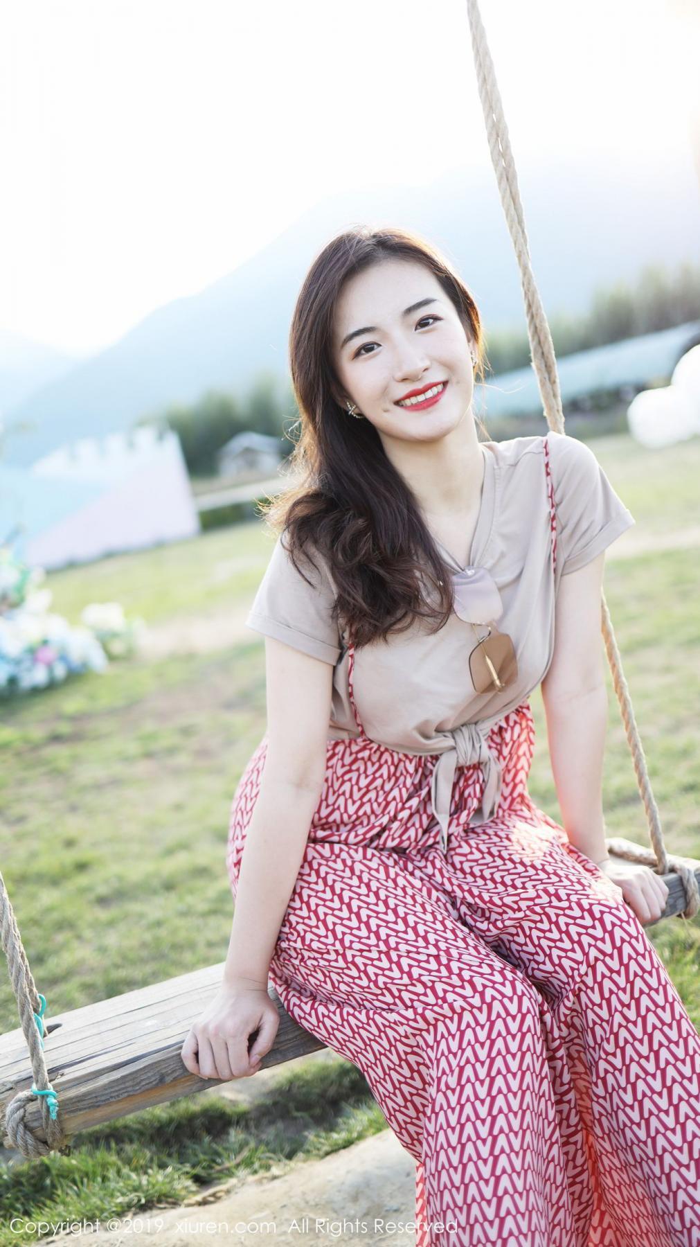 [XiuRen] Vol.1718 Gong Tian Yi 40P, Gong Tian Yi, Outdoor, Temperament, Xiuren