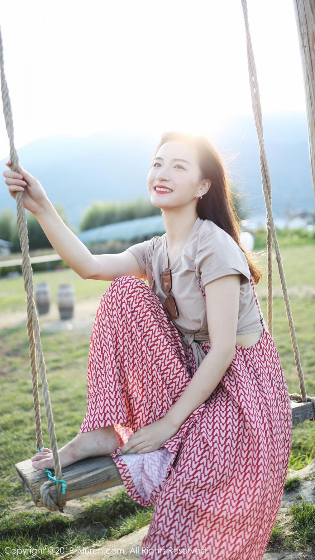 [XiuRen] Vol.1718 Gong Tian Yi 48P, Gong Tian Yi, Outdoor, Temperament, Xiuren