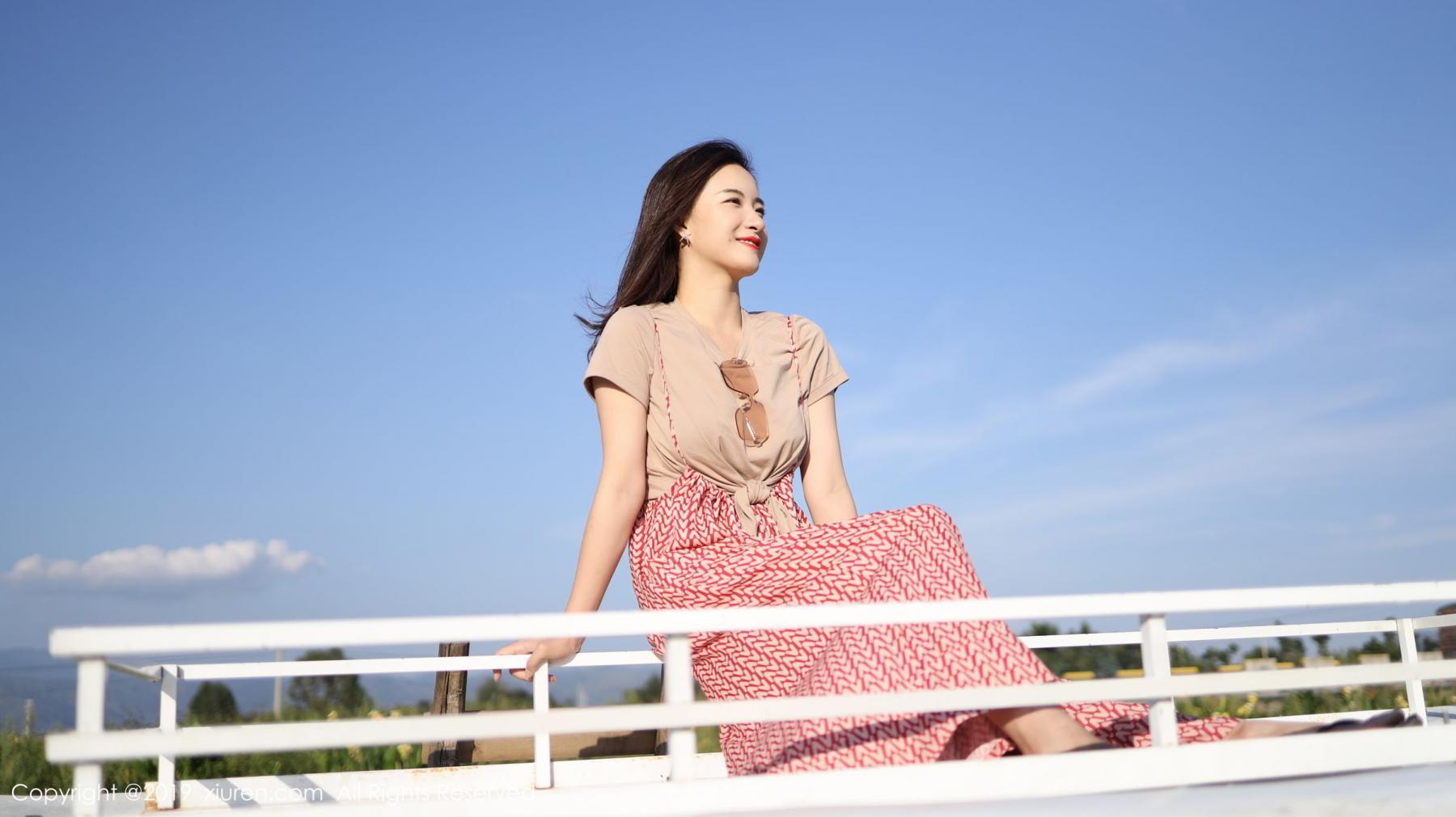 [XiuRen] Vol.1718 Gong Tian Yi 4P, Gong Tian Yi, Outdoor, Temperament, Xiuren