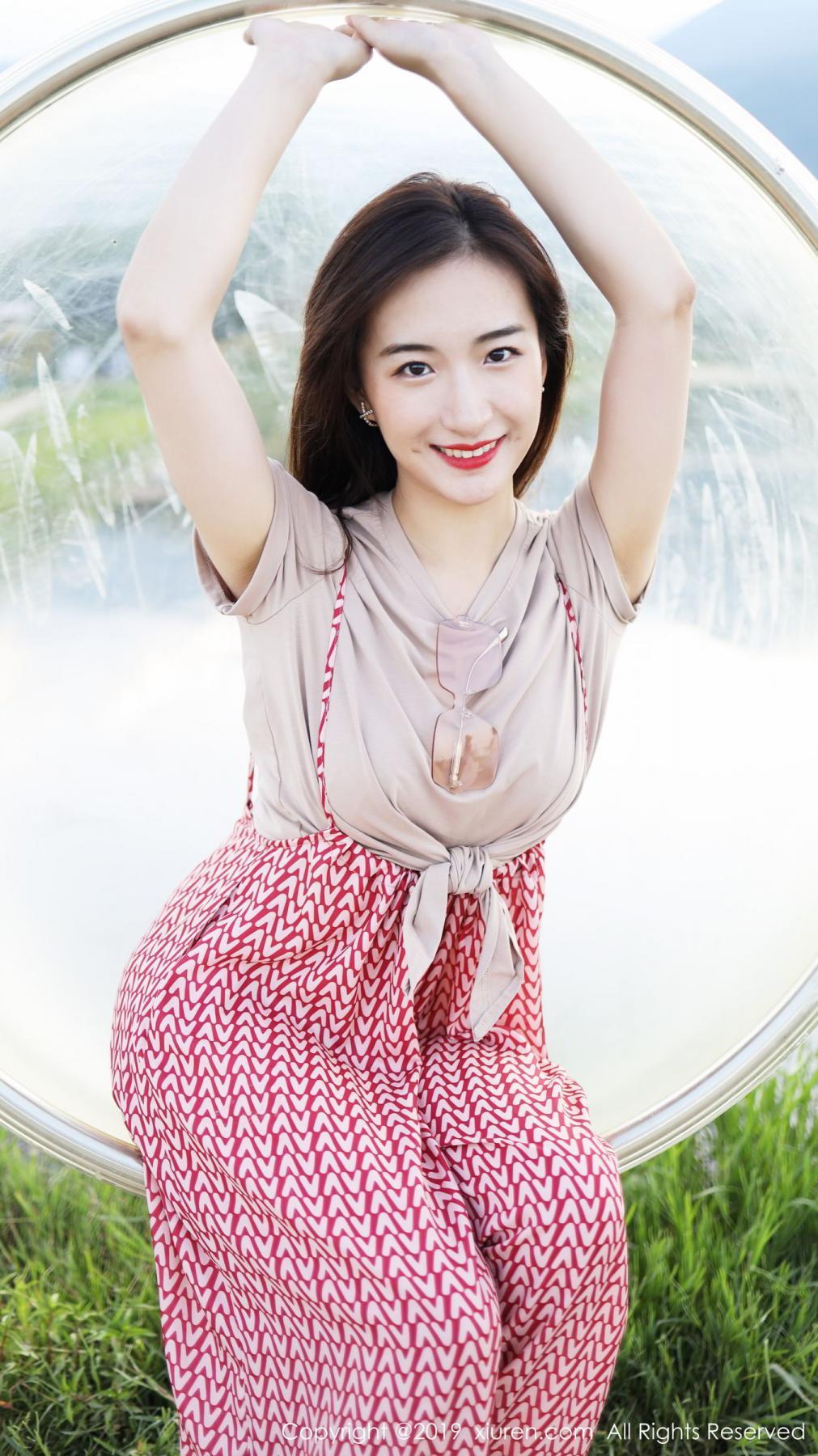 [XiuRen] Vol.1718 Gong Tian Yi 59P, Gong Tian Yi, Outdoor, Temperament, Xiuren