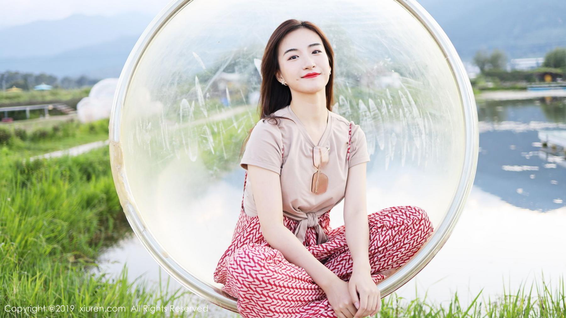 [XiuRen] Vol.1718 Gong Tian Yi 60P, Gong Tian Yi, Outdoor, Temperament, Xiuren