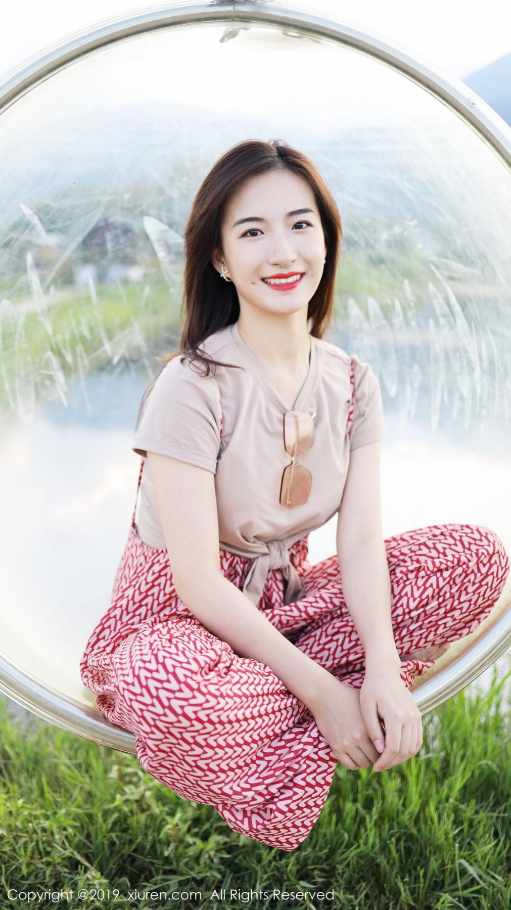 [XiuRen] Vol.1718 Gong Tian Yi 61P, Gong Tian Yi, Outdoor, Temperament, Xiuren