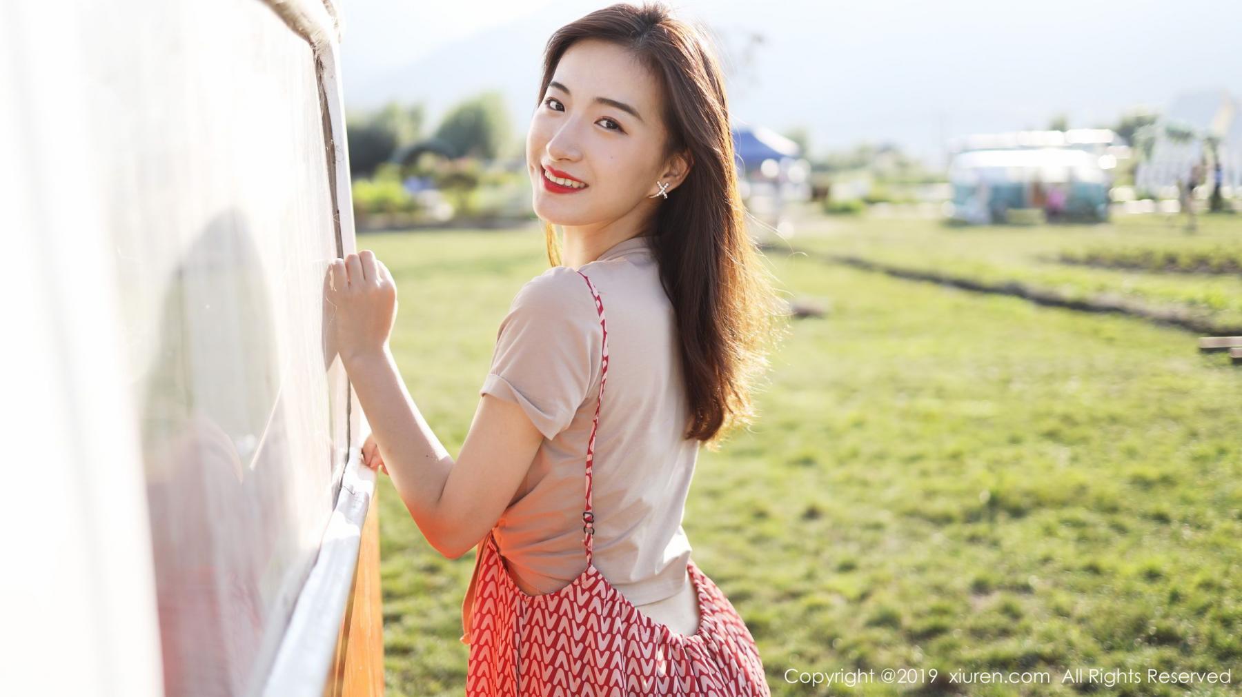 [XiuRen] Vol.1718 Gong Tian Yi 7P, Gong Tian Yi, Outdoor, Temperament, Xiuren