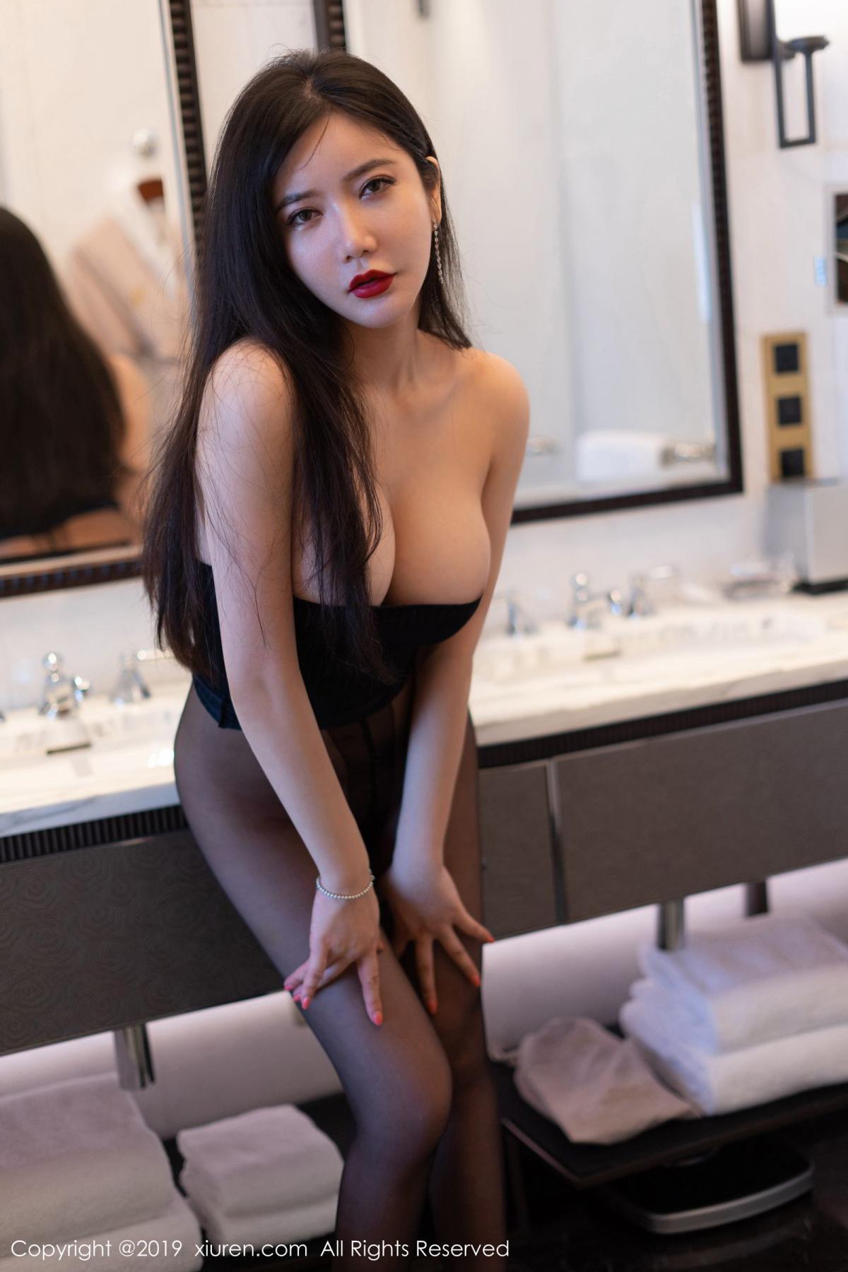 [XiuRen] Vol.1721 Li Yan Xi 15P, Black Silk, Li Yan Xi, Xiuren